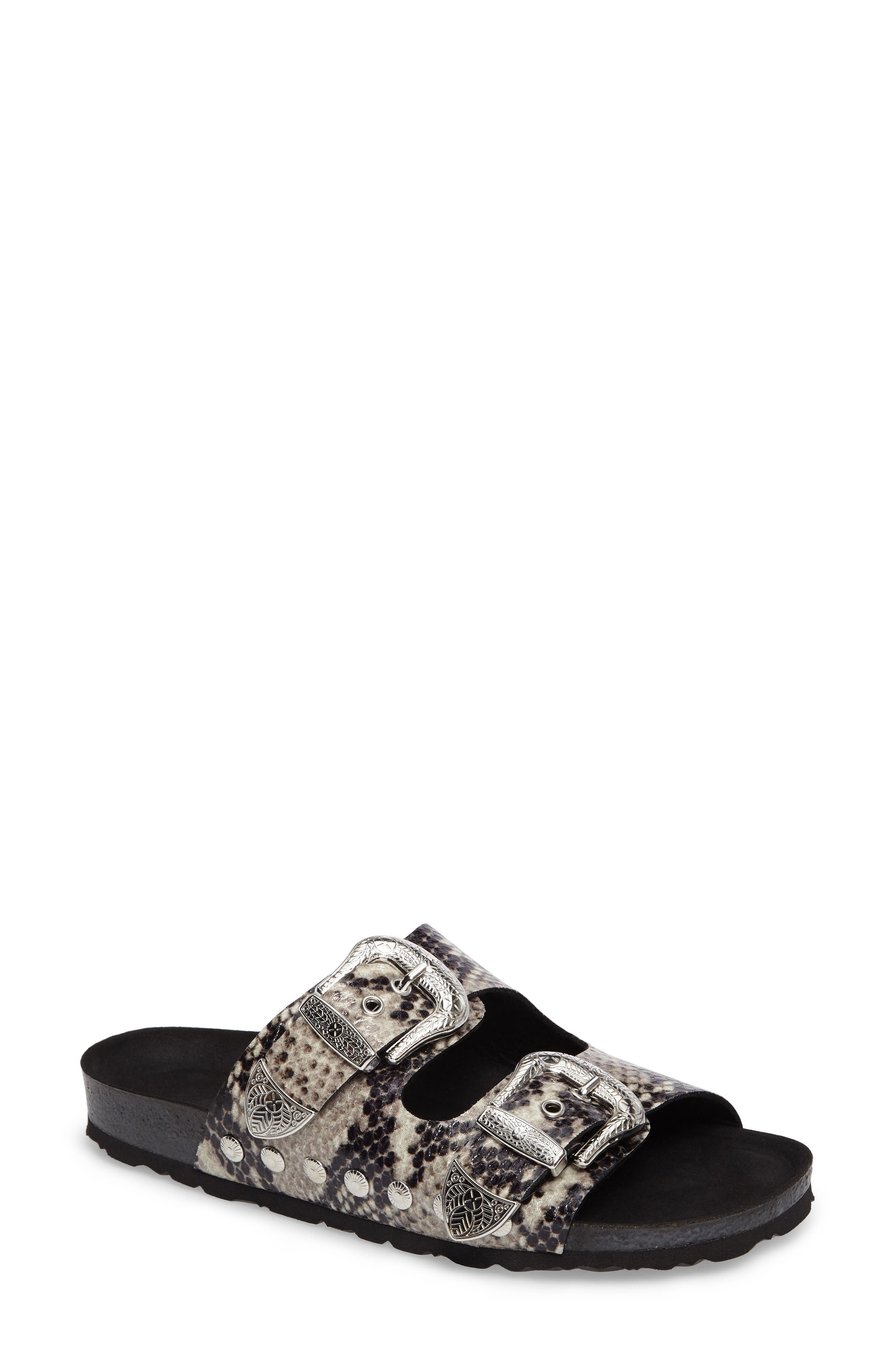 Studded Slide Sandal,                             Main thumbnail 3, color,