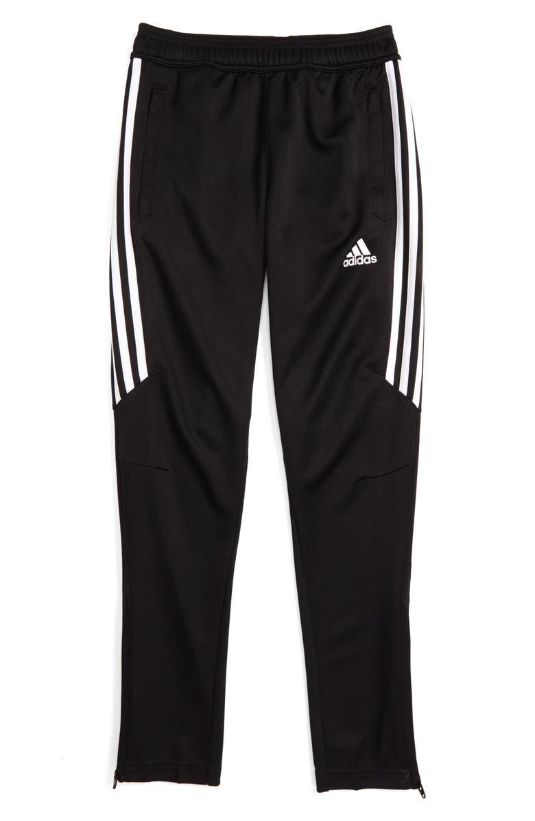 6c26372fb6d ADIDAS ORIGINALS Tiro 17 Training Pants, Main, color, BLACK/ WHITE/ WHITE