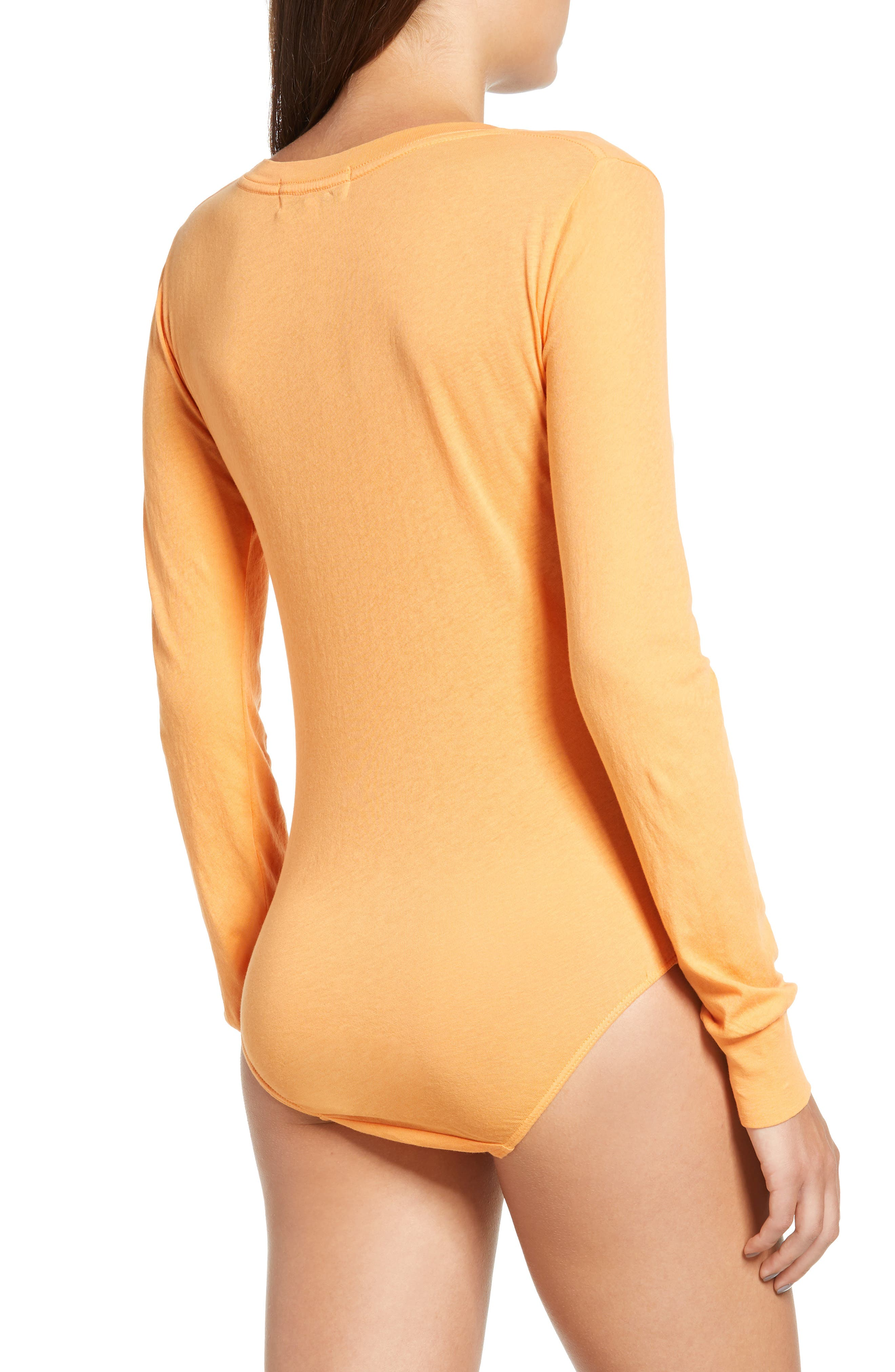 WILDFOX,                             Jack O' Heart Bodysuit,                             Alternate thumbnail 3, color,                             820