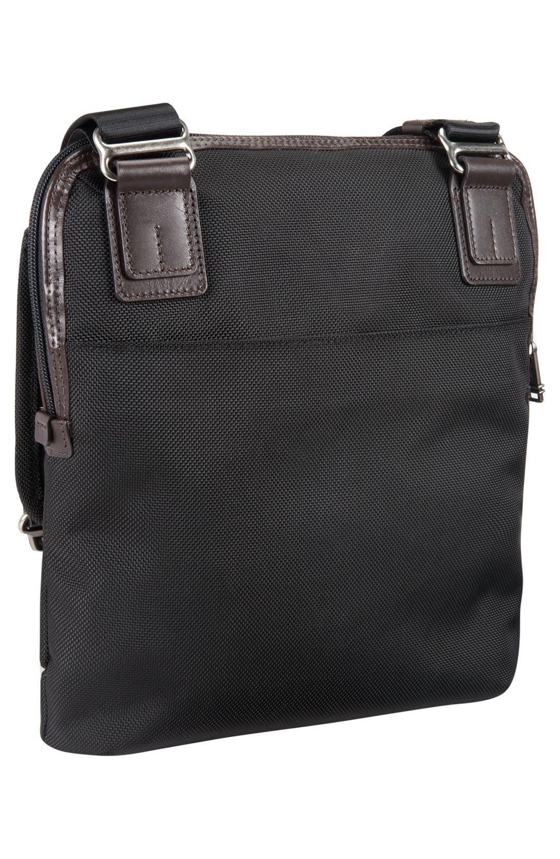 TUMI,                             'Alpha Bravo - Annapolis' Zip Flap Messenger Bag,                             Alternate thumbnail 4, color,                             001