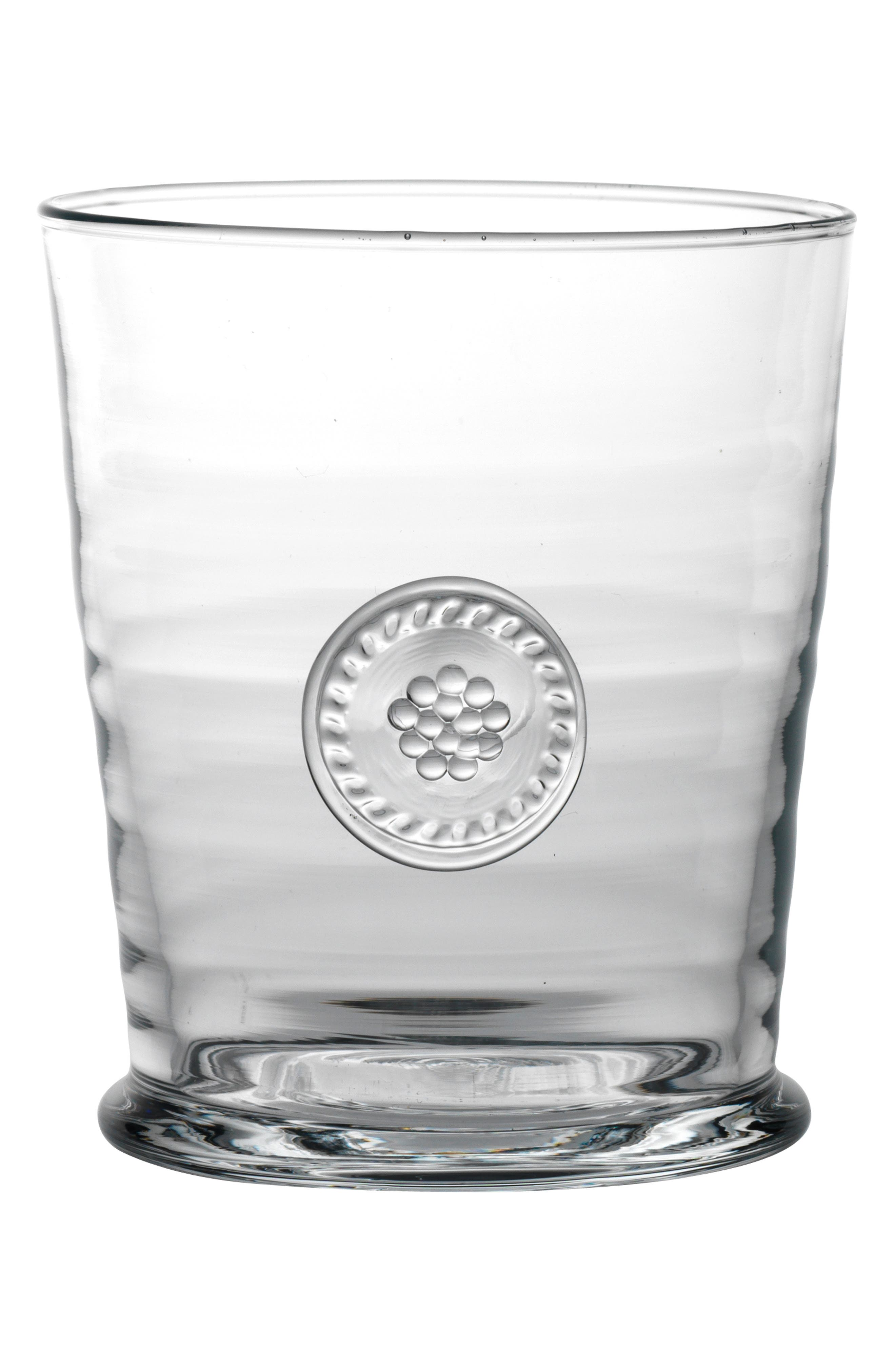 'Berry and Thread' Double Old Fashioned Glass,                             Alternate thumbnail 4, color,                             CLEAR