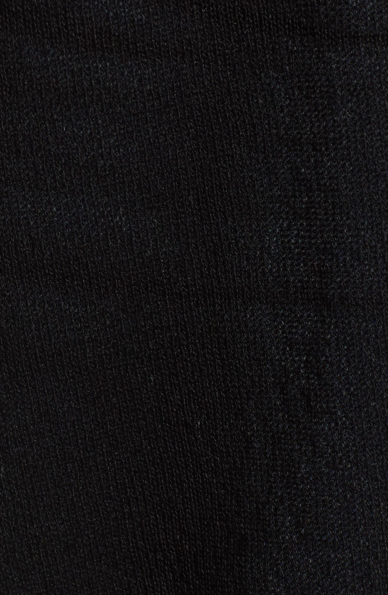 Sheer Longline Cardigan,                             Alternate thumbnail 6, color,                             001