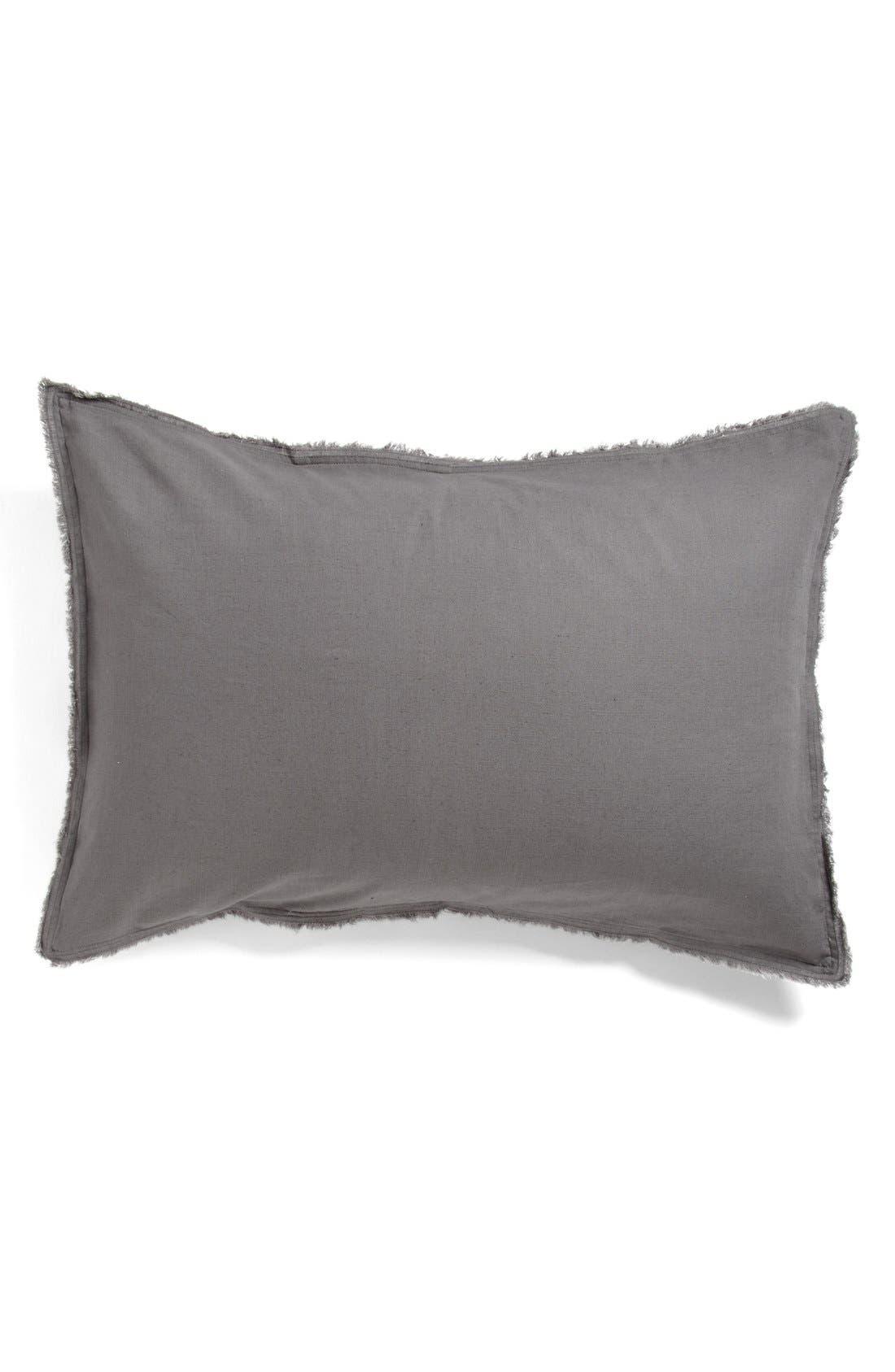 'Terra' Cotton & Linen Sham, Main, color, 021