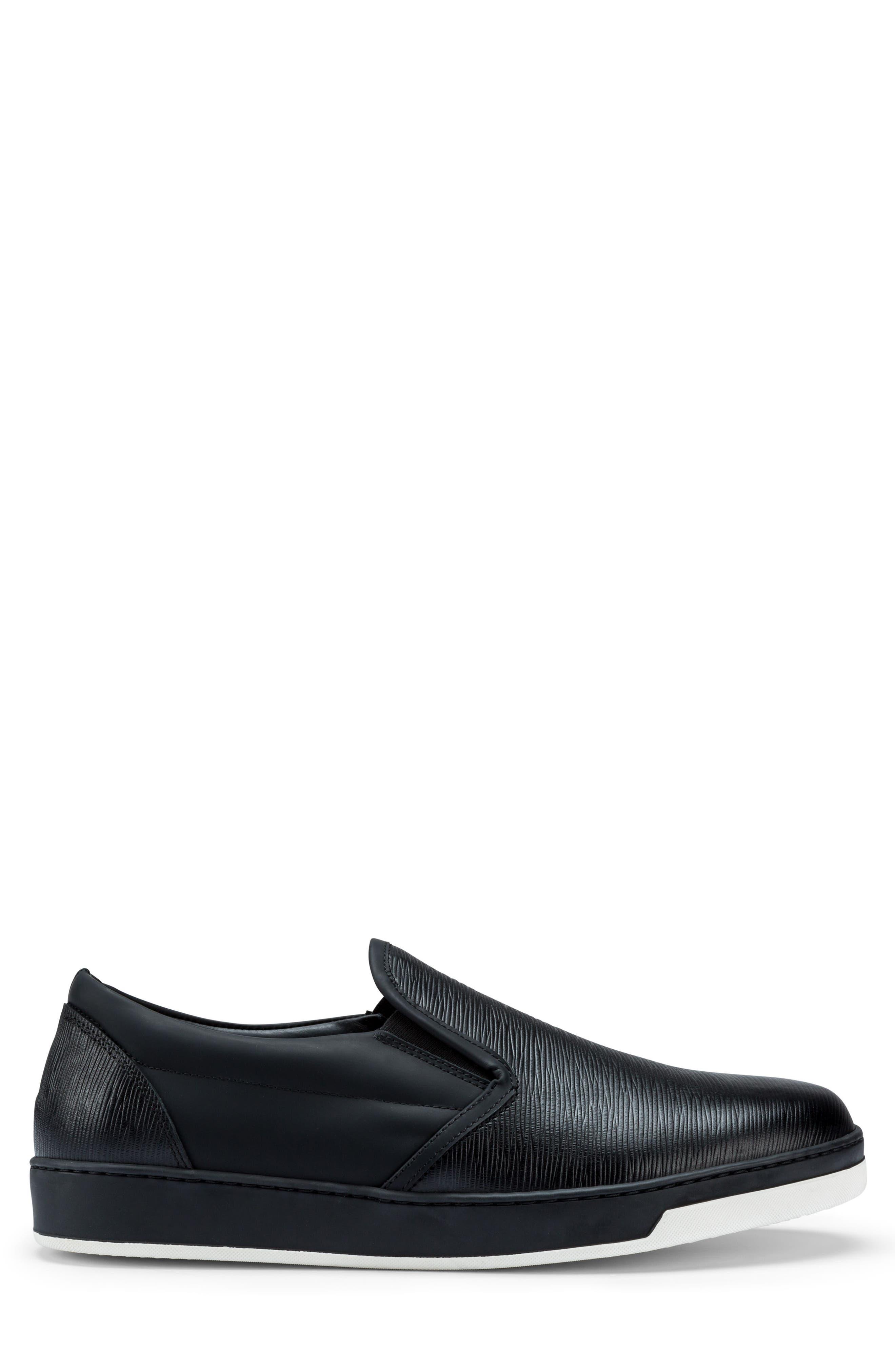 Santorini Slip-On Sneaker,                             Alternate thumbnail 3, color,                             001