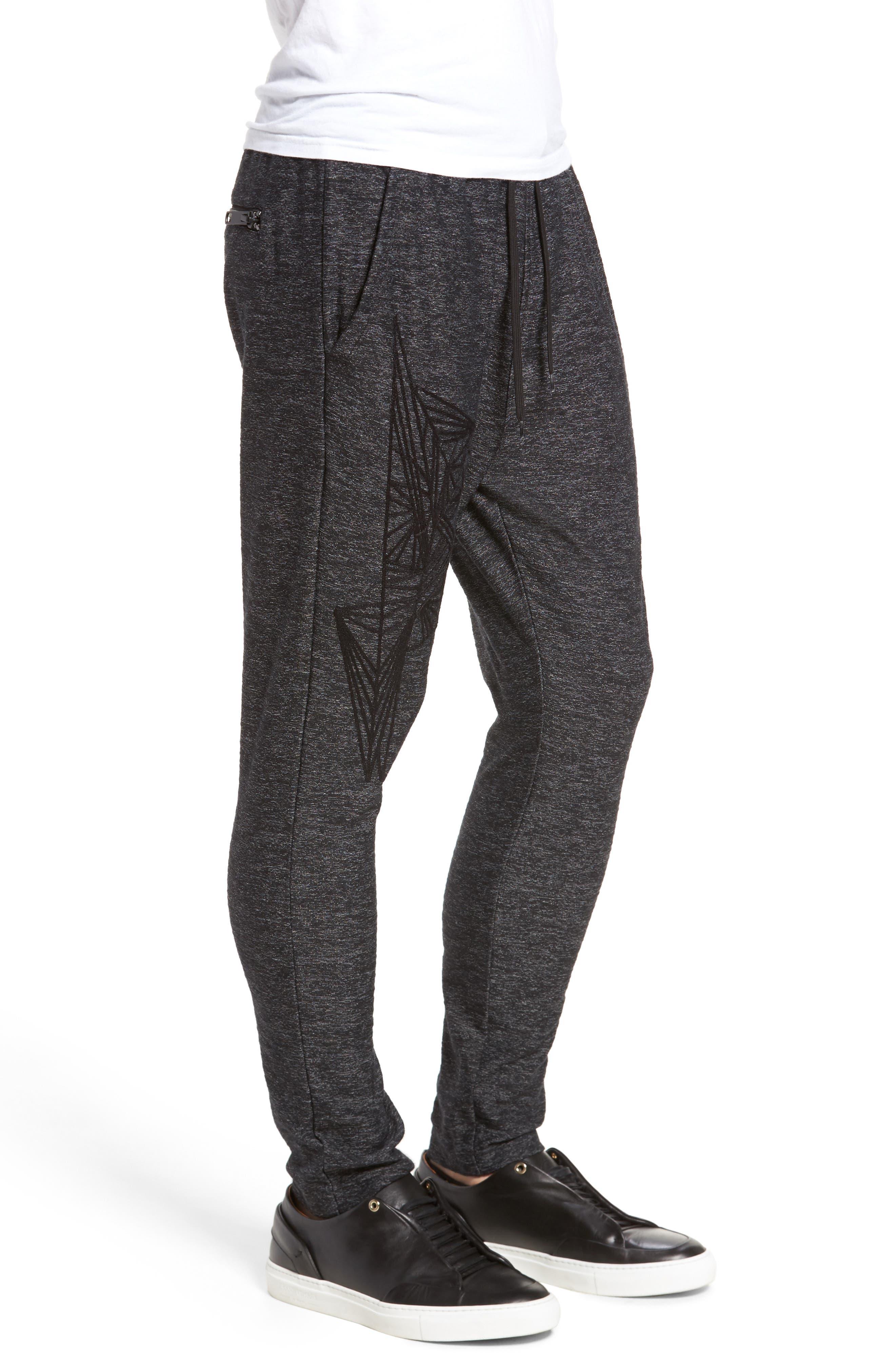 Fleece Pants,                             Alternate thumbnail 3, color,                             001