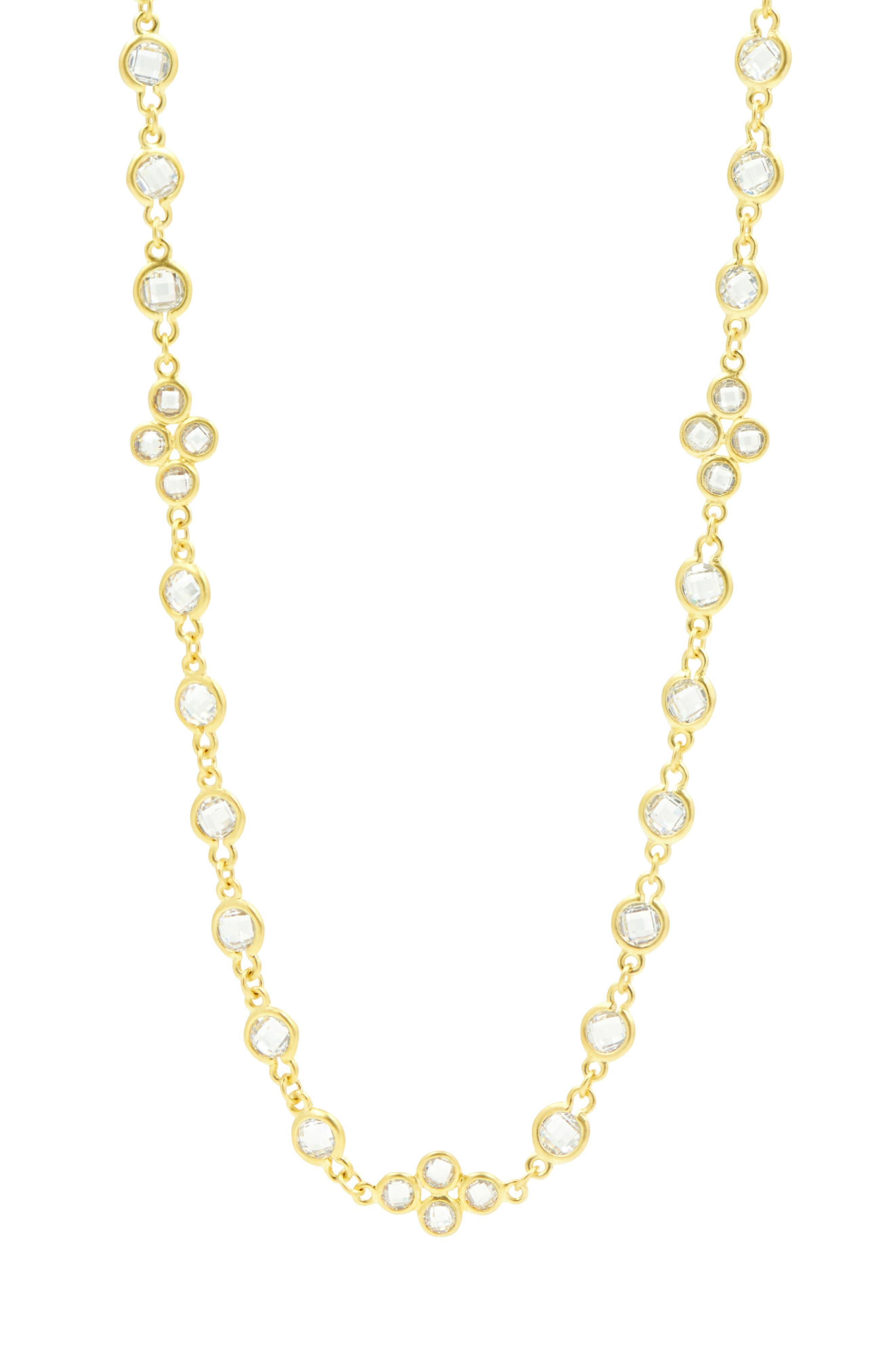 Cubic Zirconia Necklace,                             Alternate thumbnail 3, color,                             710