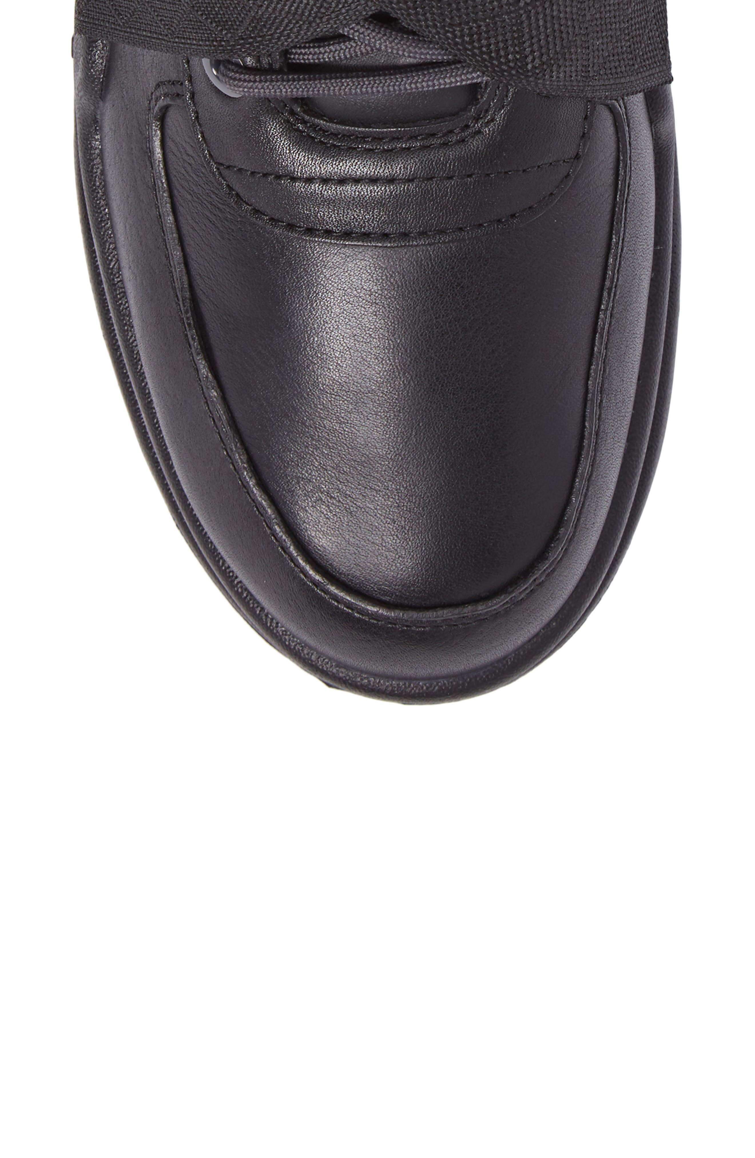 Air Max Goadome Sneaker Boot,                             Alternate thumbnail 5, color,                             BLACK/ ANTHRACITE/ BLACK