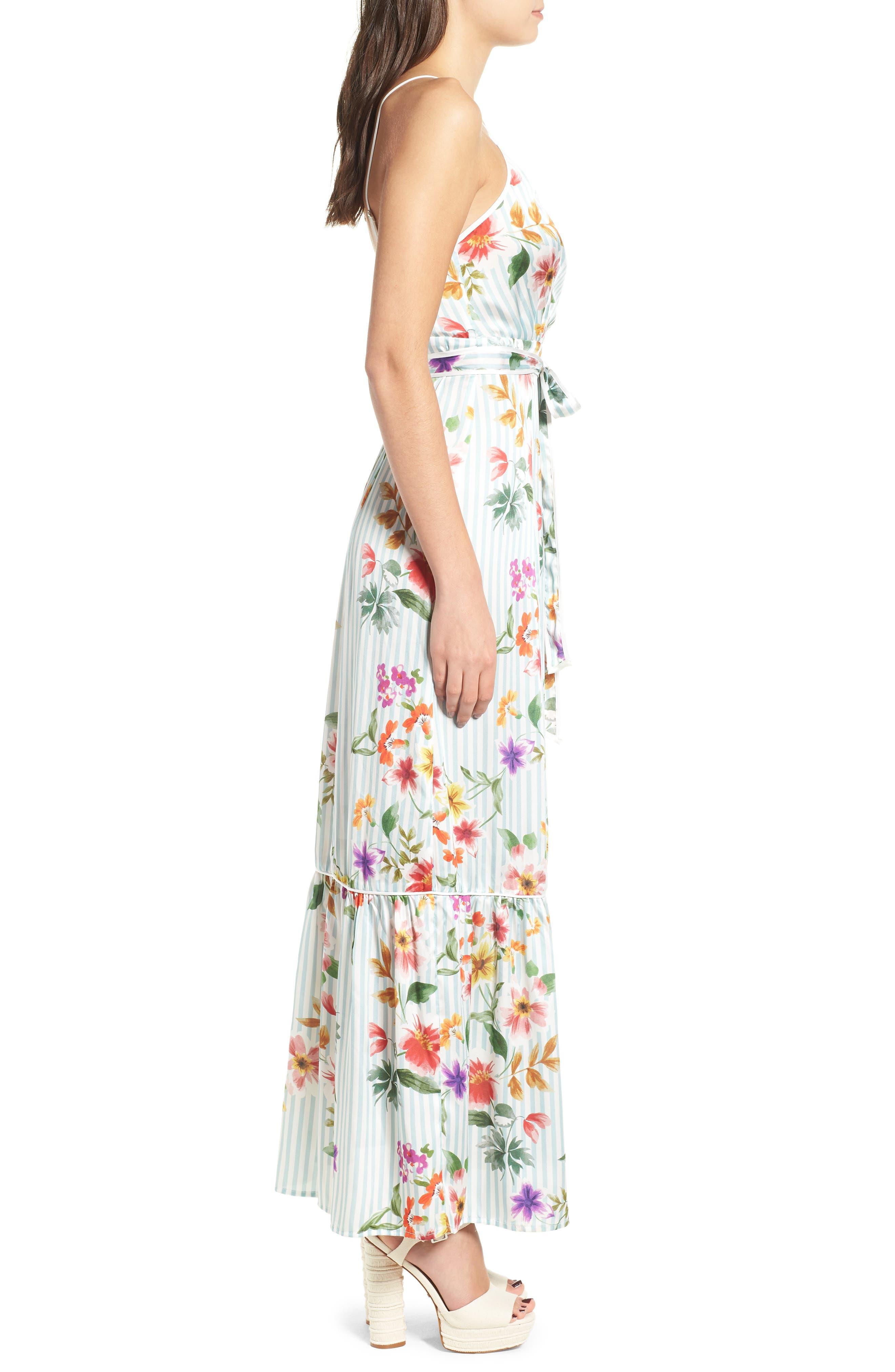 Aubrie Maxi Dress,                             Alternate thumbnail 3, color,                             400