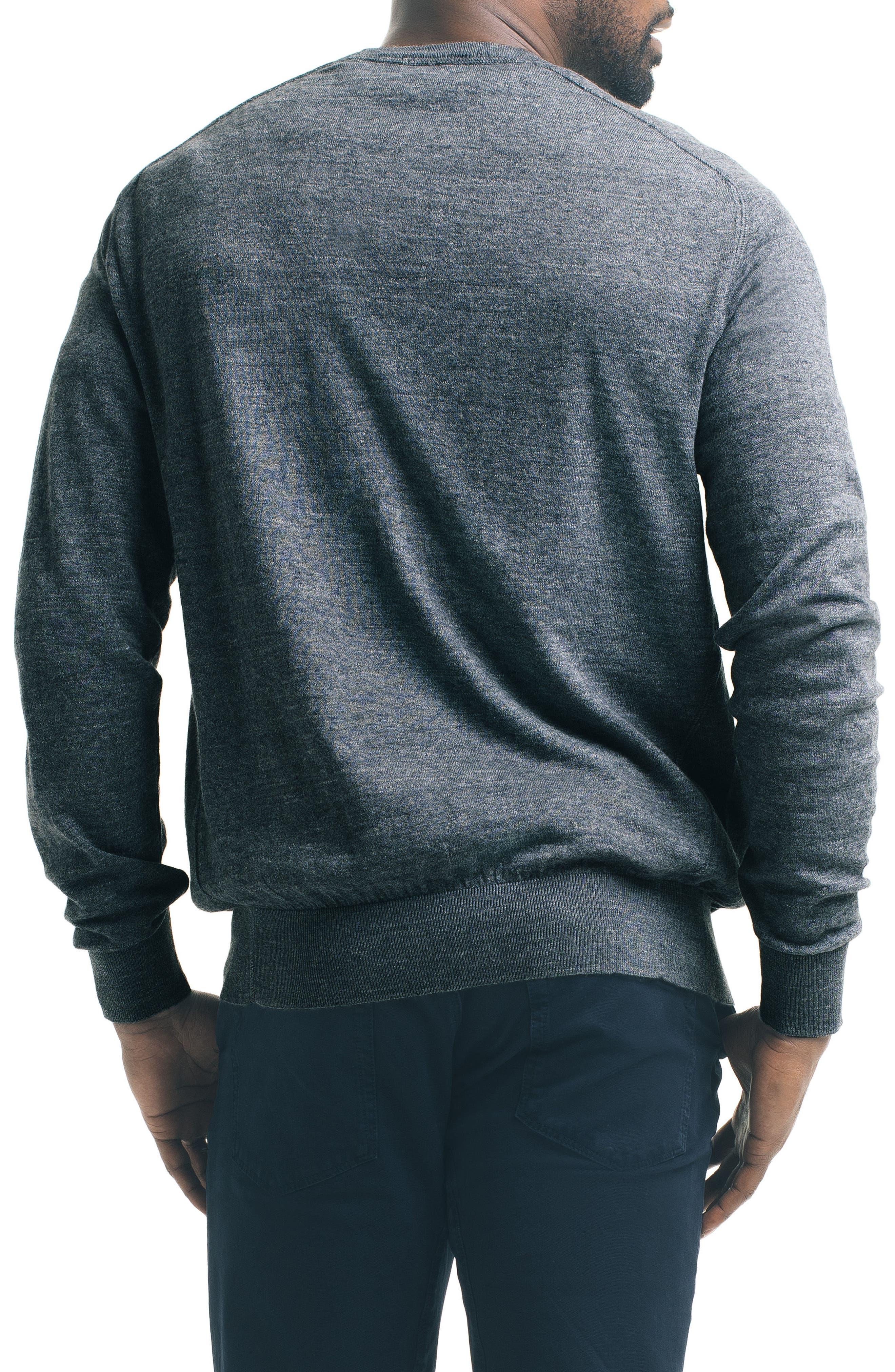 Slub Pullover Sweater,                             Alternate thumbnail 5, color,