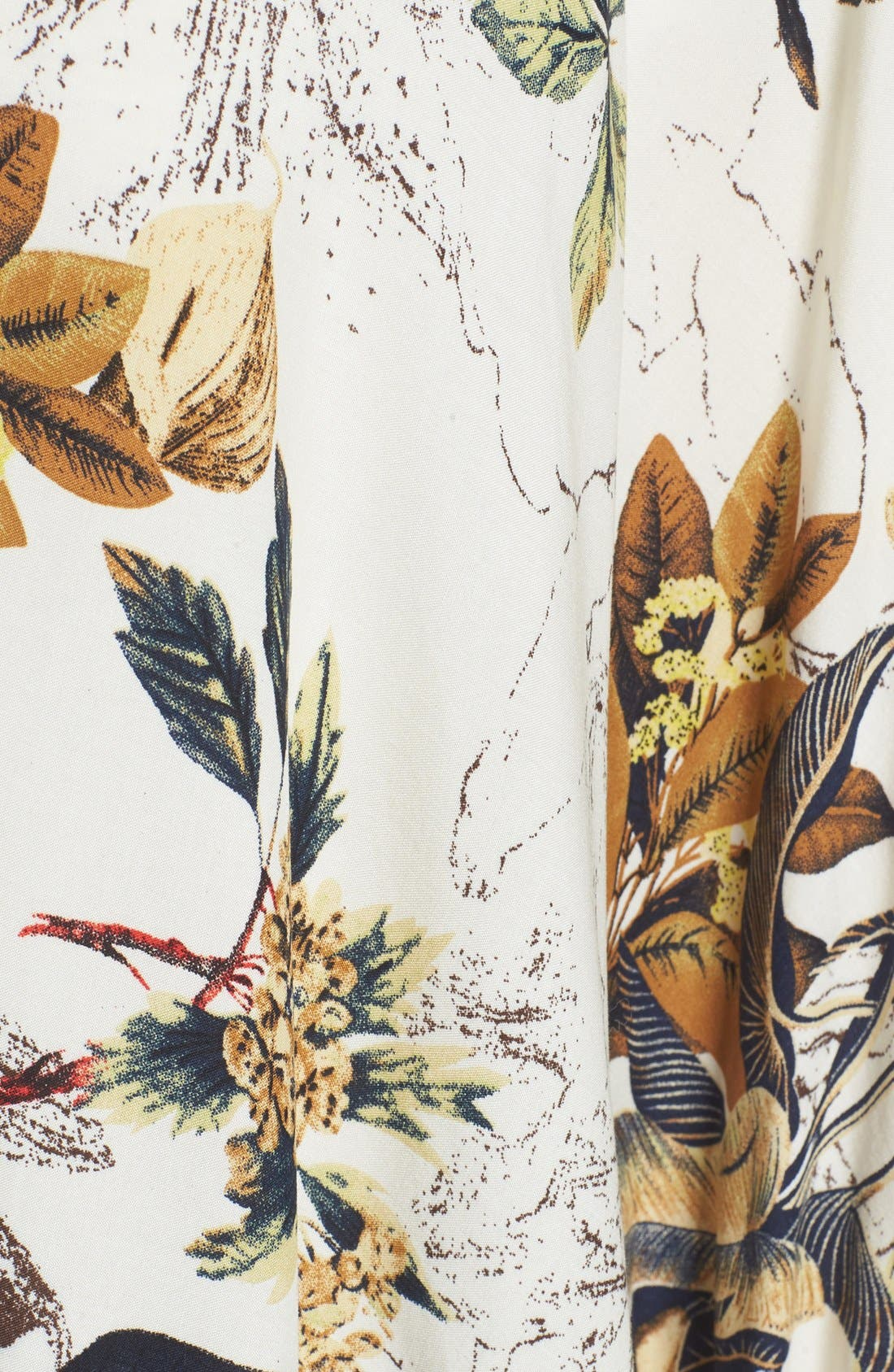 ROFFE ACCESSORIES,                             Fringe Kimono,                             Alternate thumbnail 5, color,                             111
