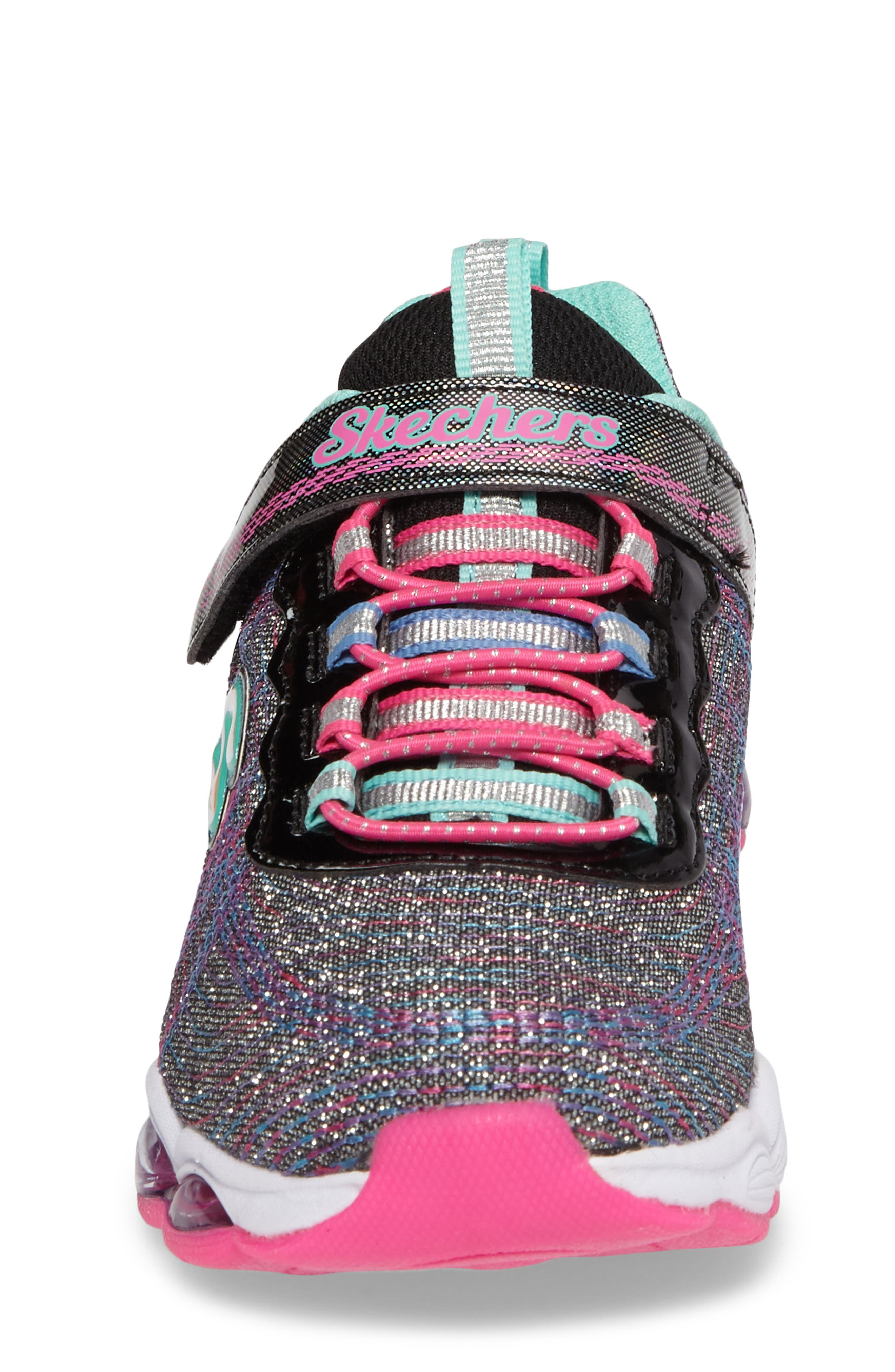 Glimmer Lights Sneakers,                             Alternate thumbnail 4, color,                             001