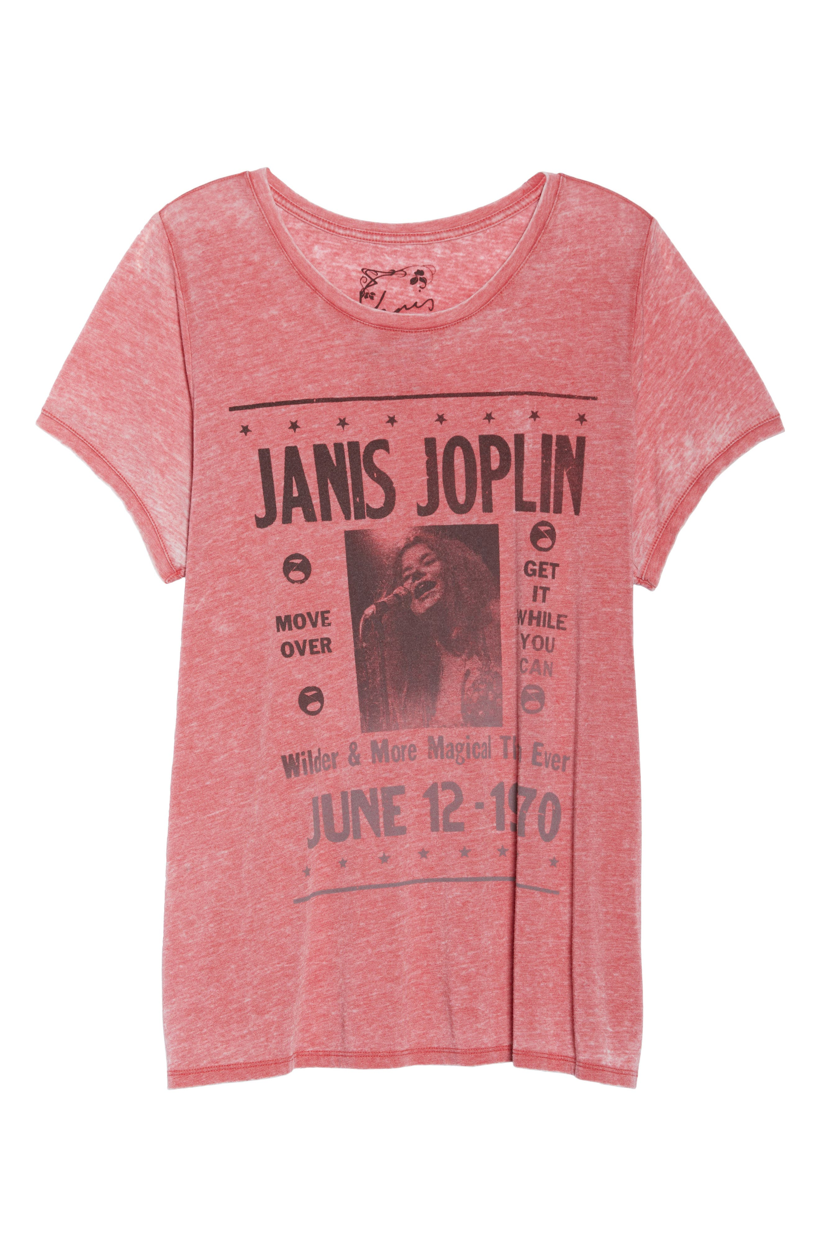 Janis Joplin Tee,                             Alternate thumbnail 7, color,                             640