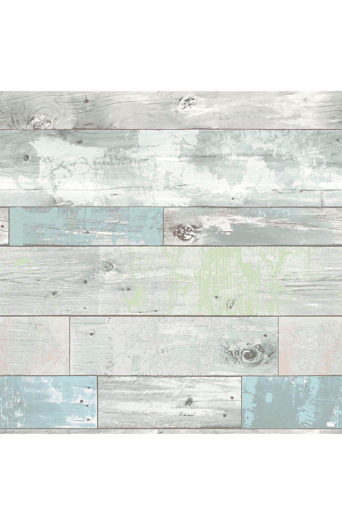 'Beachwood'  Peel & Stick Vinyl Wallpaper,                         Main,                         color,