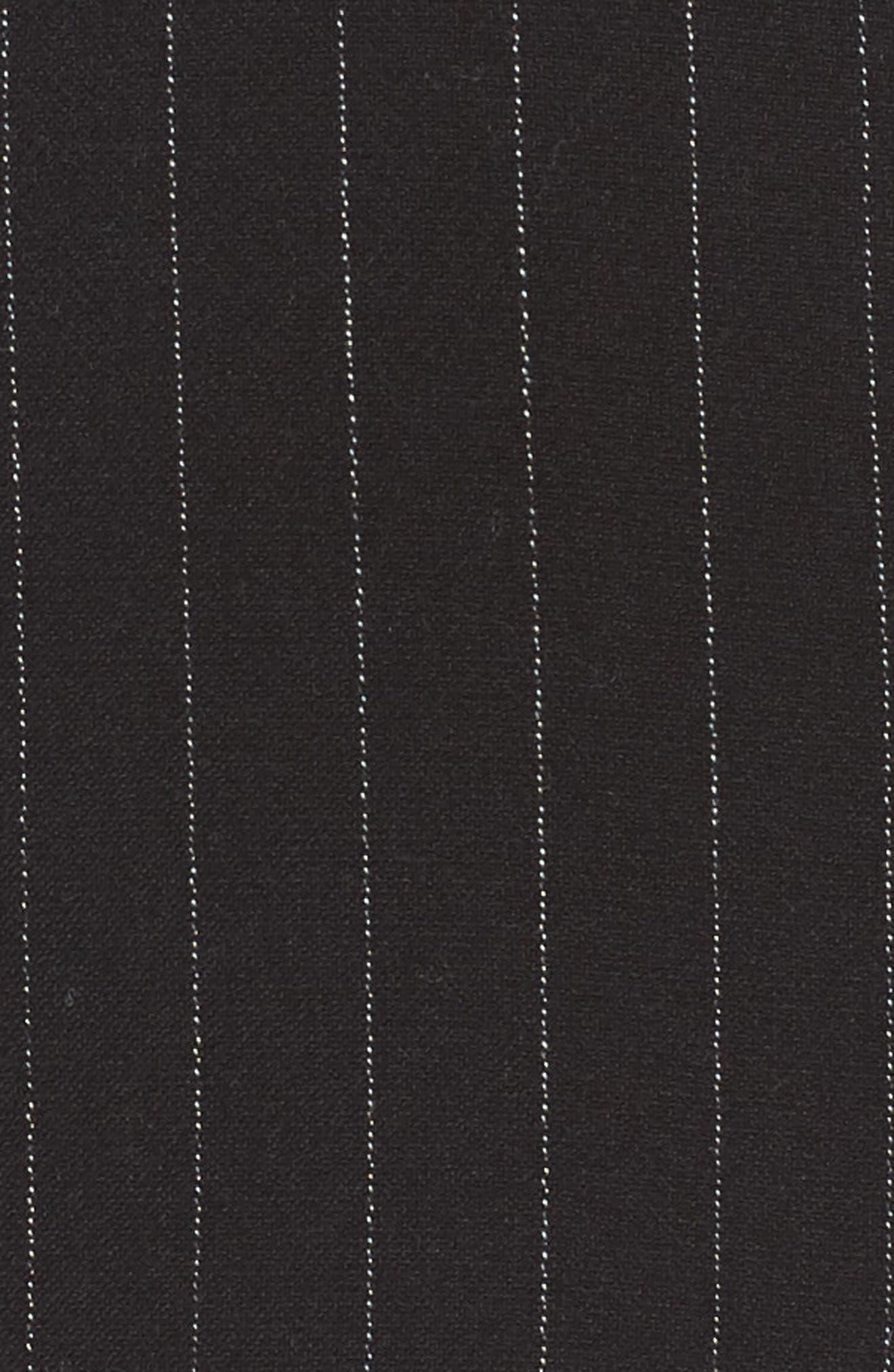 Dominic Asymmetrical Ruffle Skirt,                             Alternate thumbnail 5, color,                             001