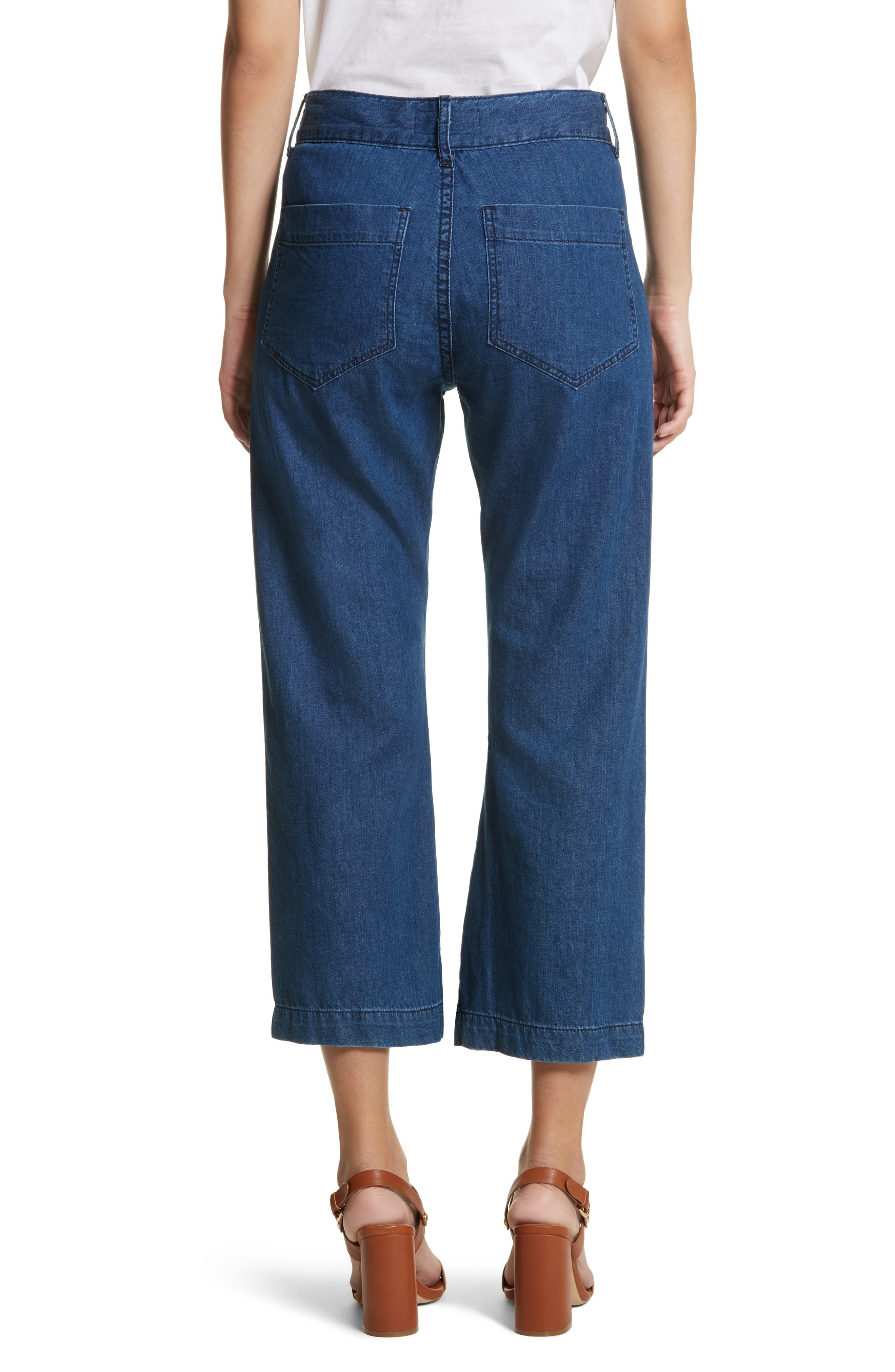The Slouch Sailor Jeans,                             Alternate thumbnail 2, color,                             400
