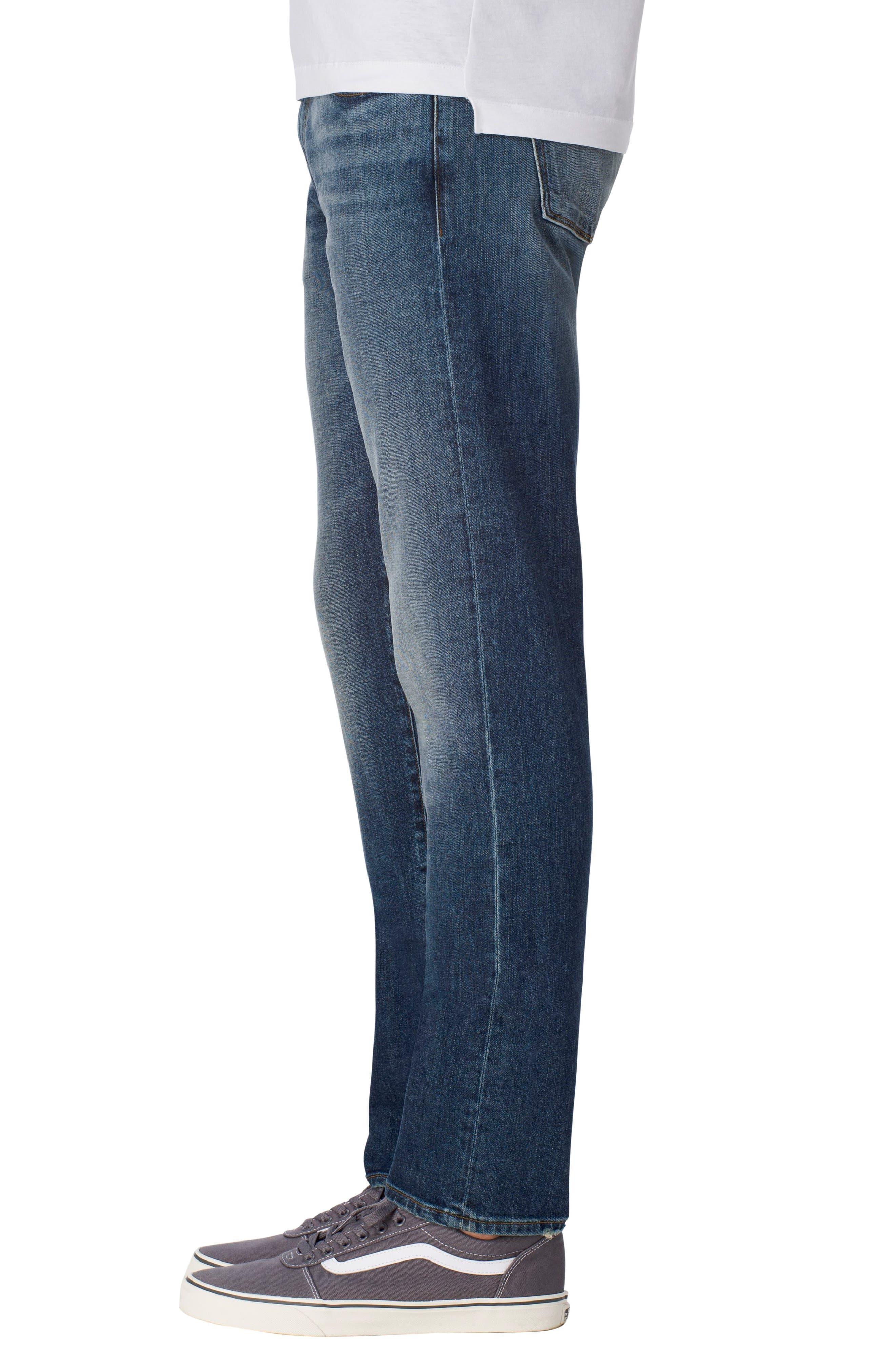 Kane Slim Straight Leg Jeans,                             Alternate thumbnail 3, color,                             422