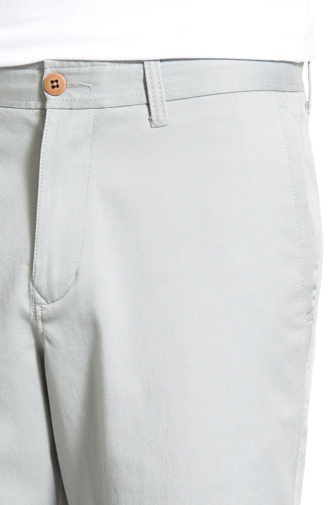 'Offshore' Flat Front Shorts,                             Alternate thumbnail 22, color,