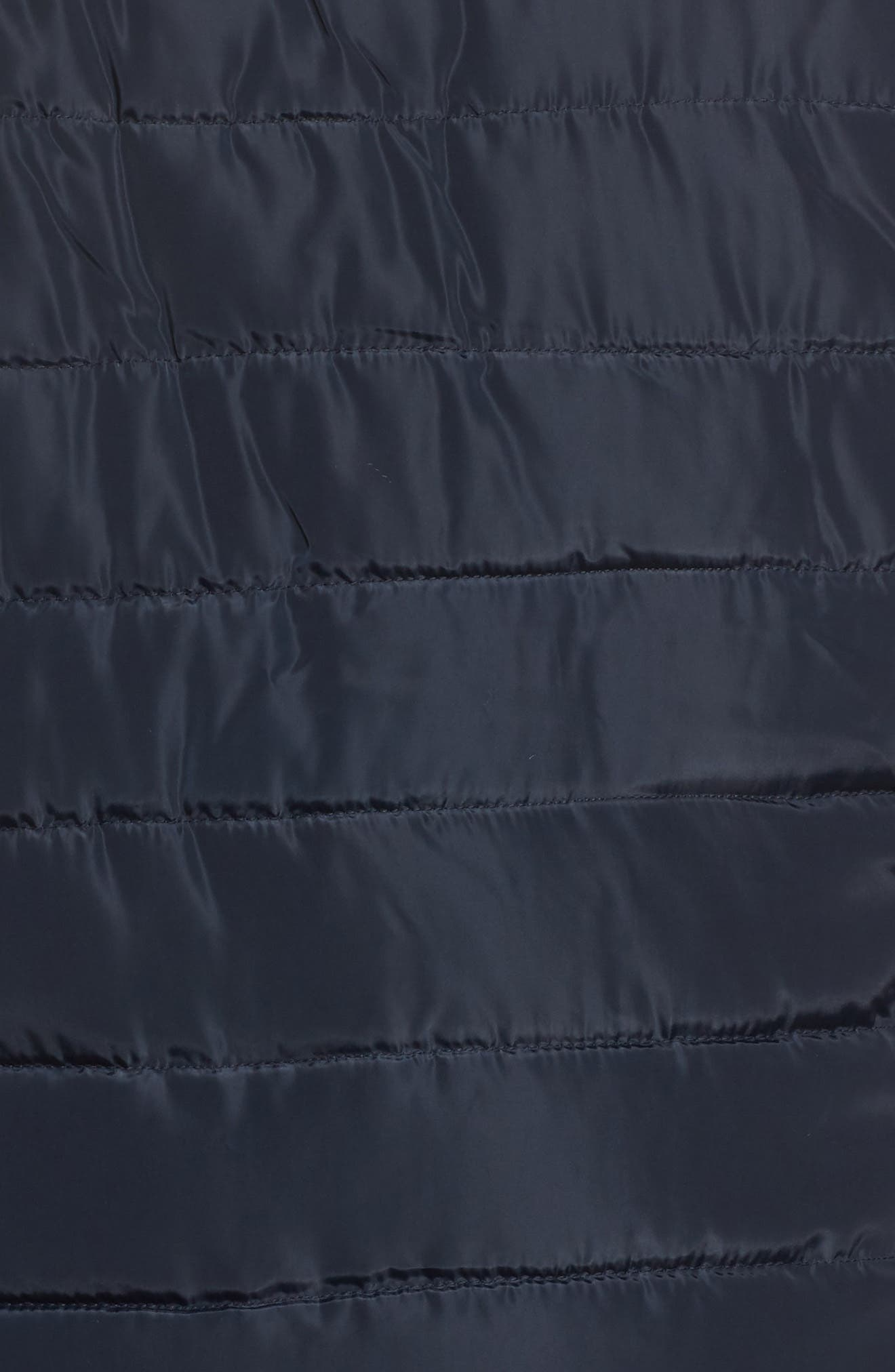 Faux Fur Trim Hooded Puffer Jacket,                             Alternate thumbnail 6, color,                             400