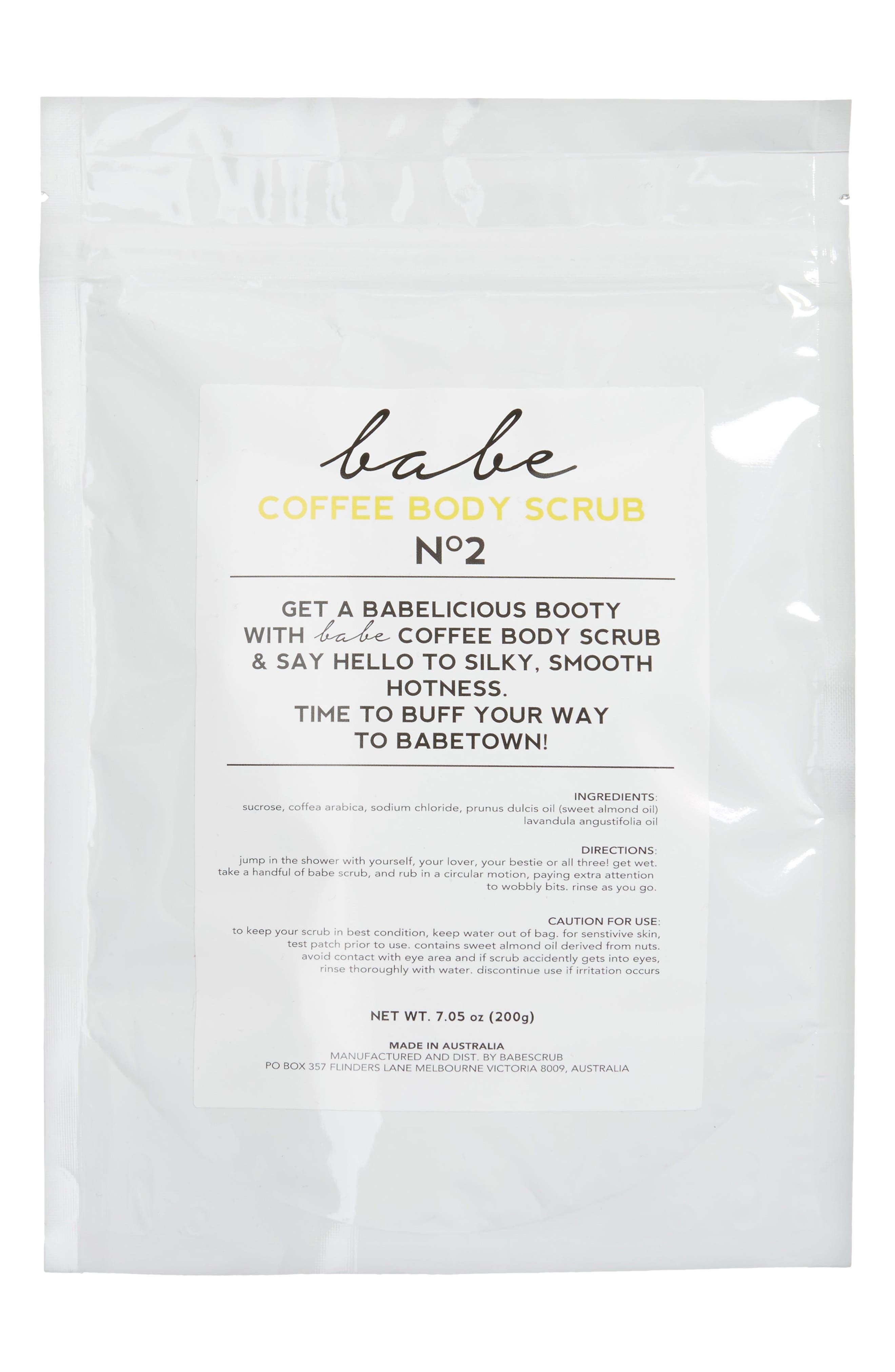 No. 2 Coffee Body Scrub,                             Main thumbnail 1, color,