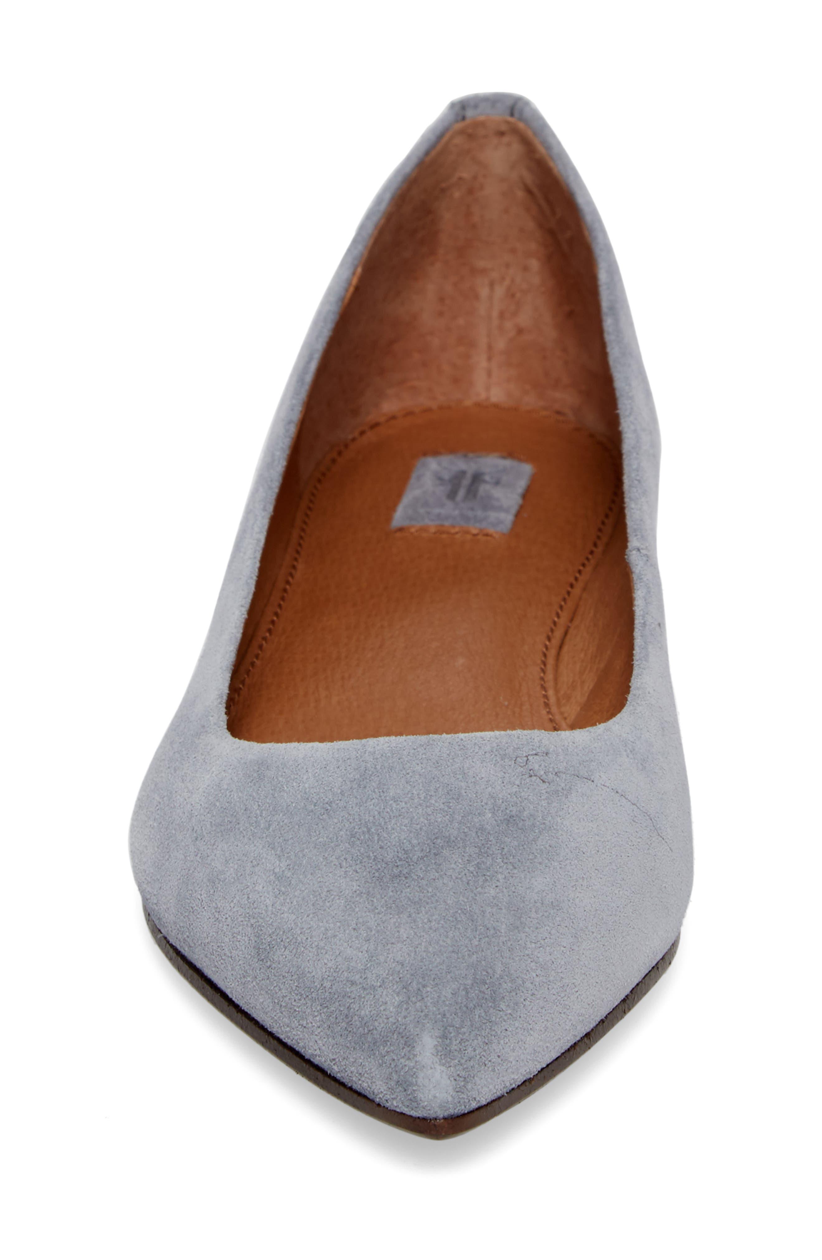 Sienna Pointy Toe Ballet Flat,                             Alternate thumbnail 12, color,
