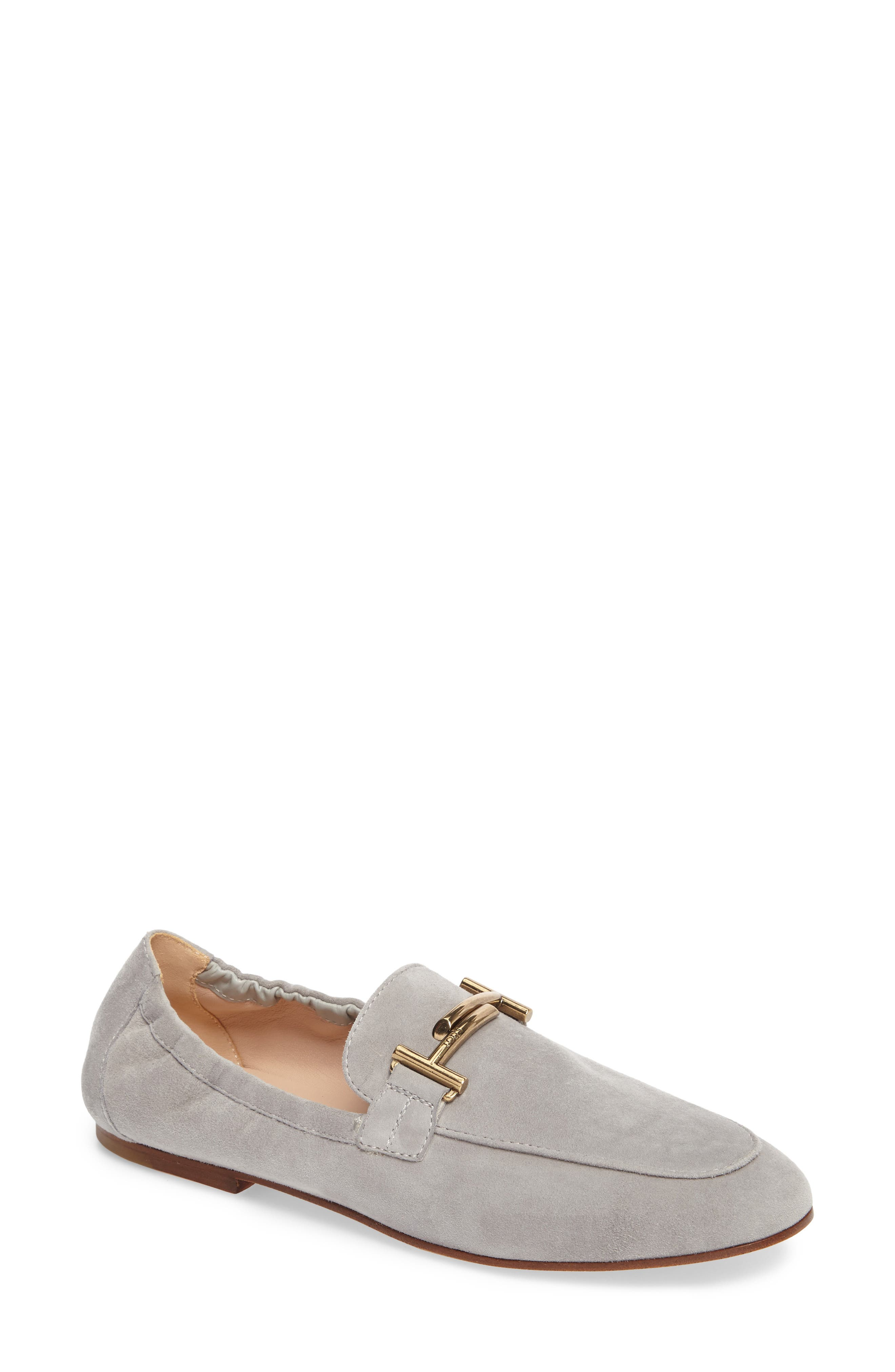 Double T Scrunch Loafer,                         Main,                         color, 020