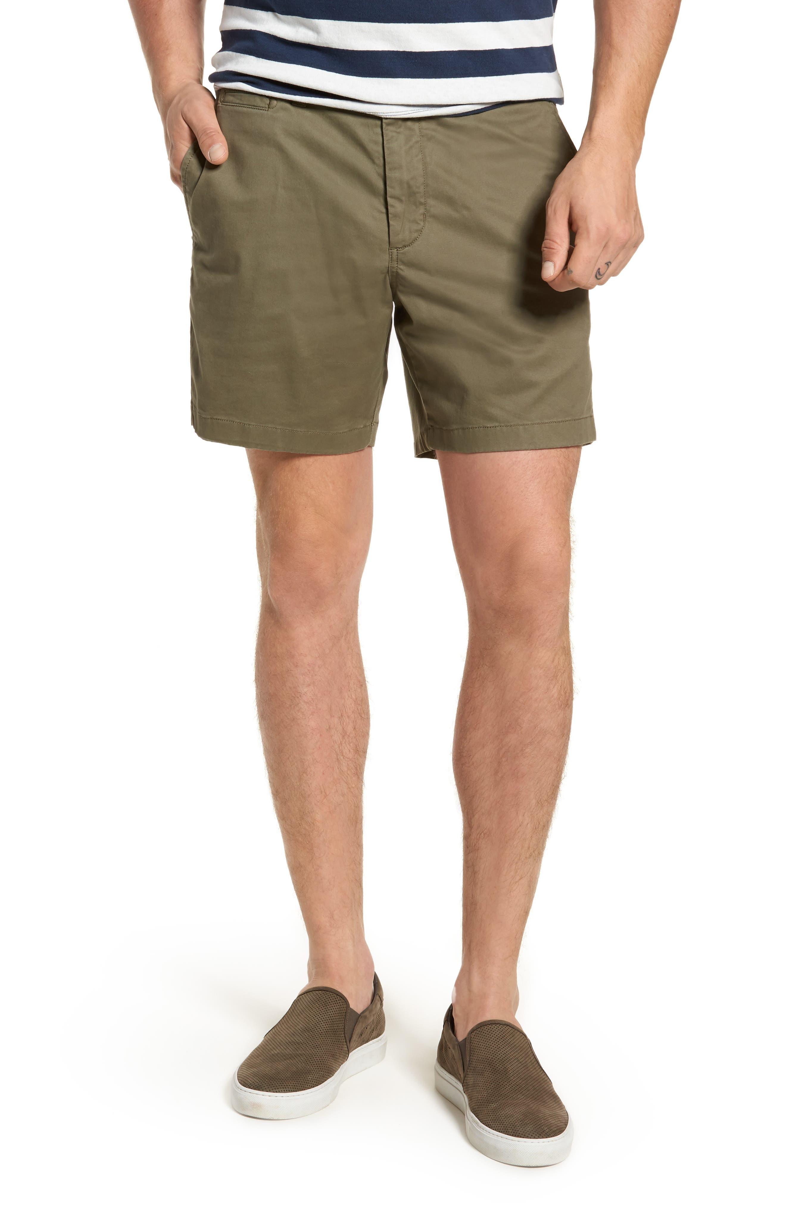 Ballard Slim Fit Stretch Chino 7-Inch Shorts,                             Main thumbnail 5, color,