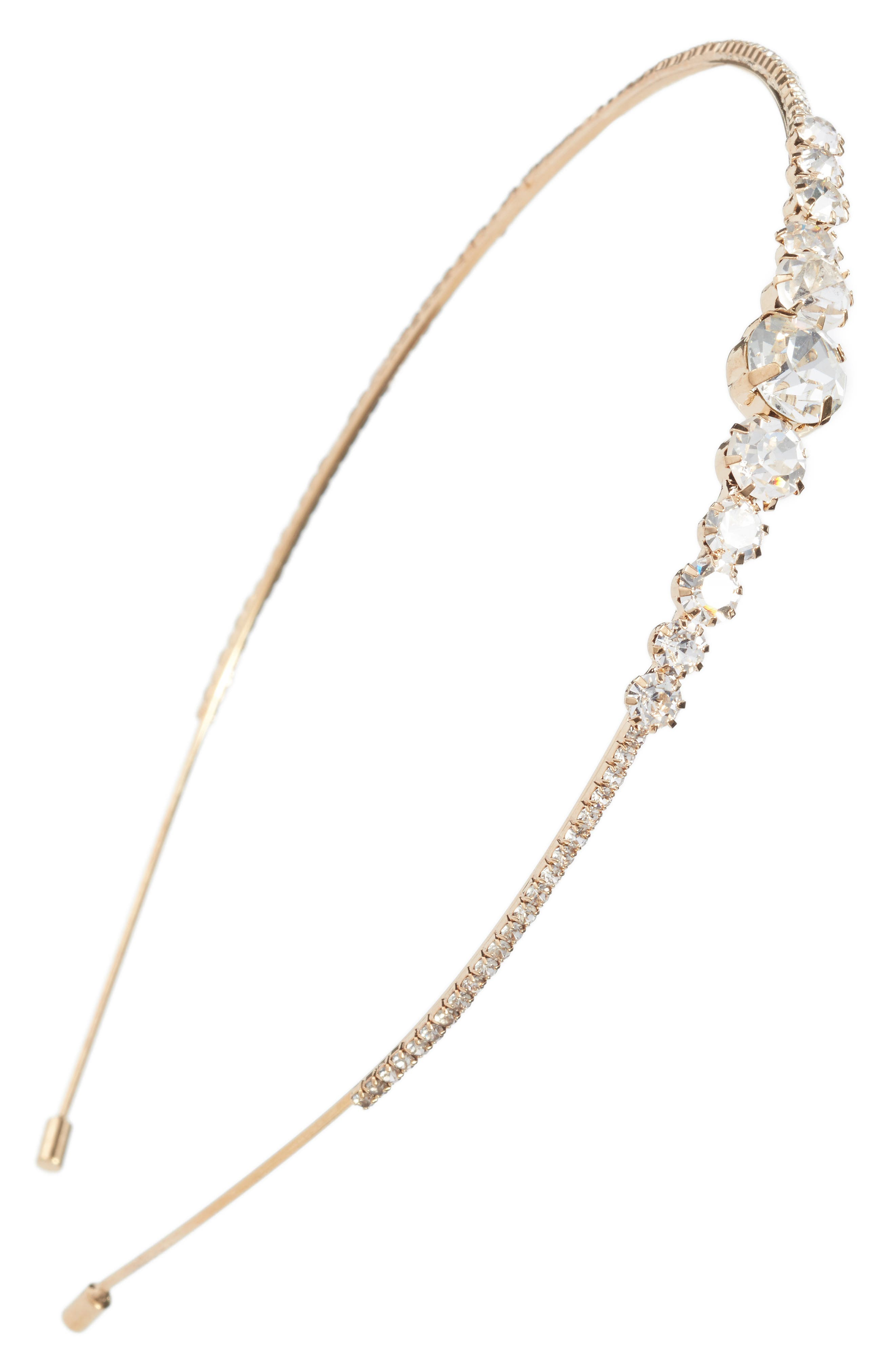 Crystal Embellished Headband,                         Main,                         color, 710