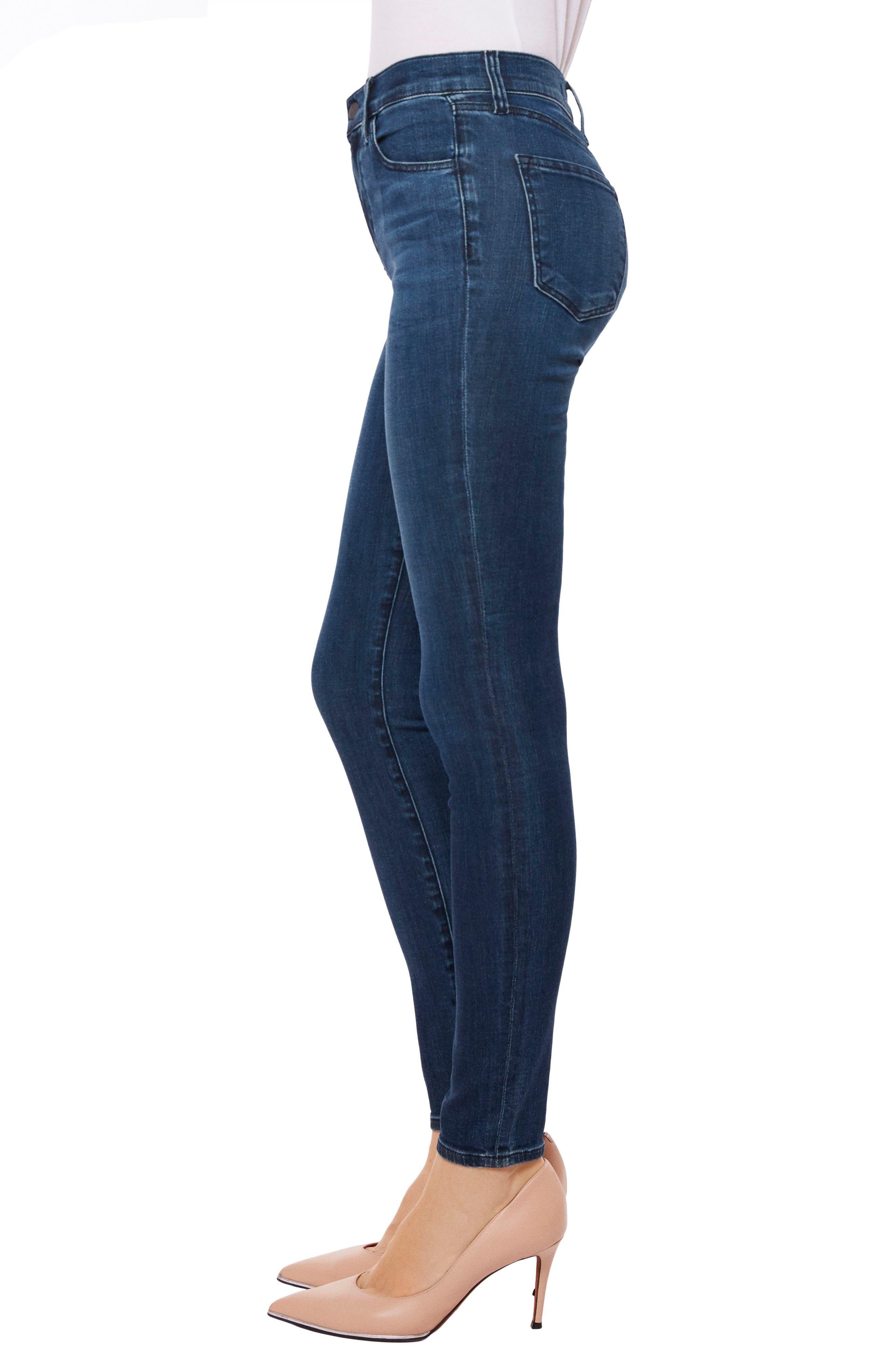 Maria High Waist Skinny Jeans,                             Alternate thumbnail 26, color,