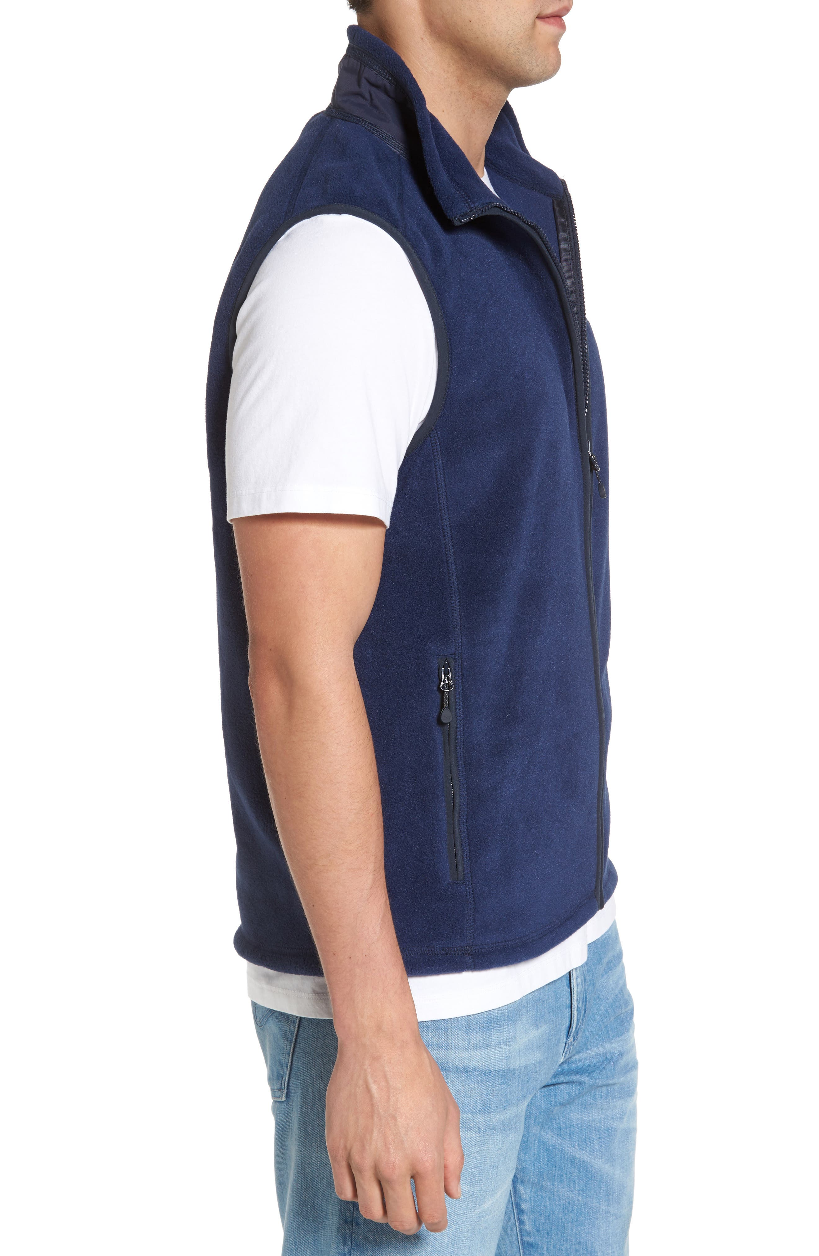 Fleece Vest,                             Alternate thumbnail 4, color,                             407