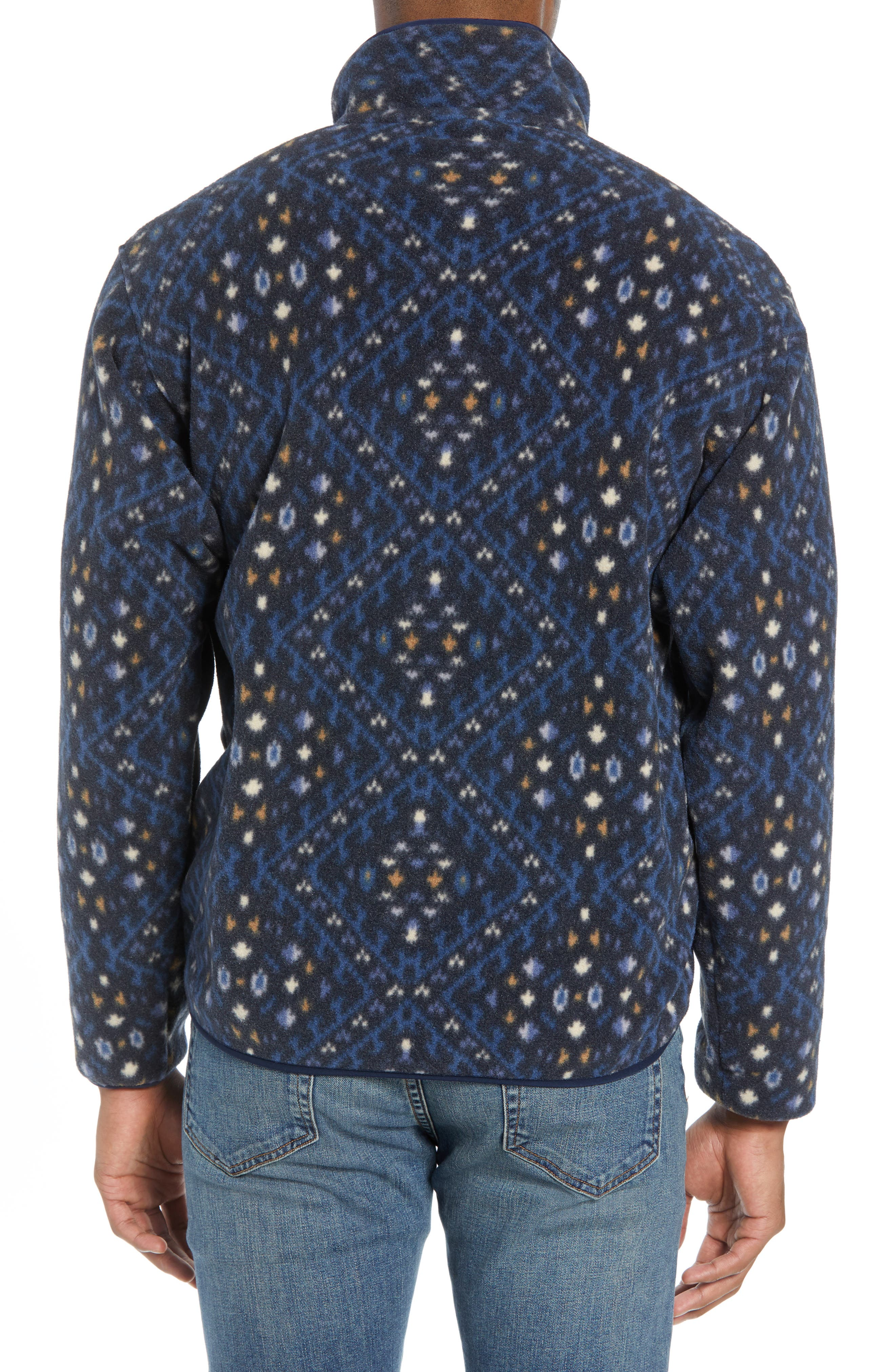 Synchilla<sup>®</sup> Snap-T<sup>®</sup> Fleece Pullover,                             Alternate thumbnail 2, color,                             HOWL/ STONE BLUE