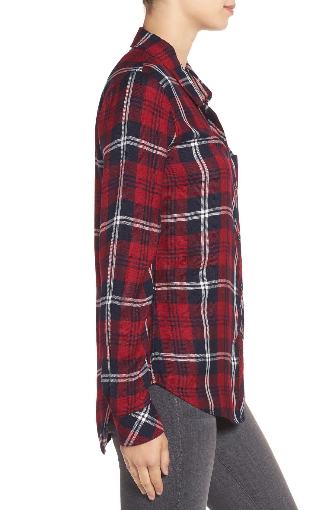 Hunter Plaid Shirt,                             Alternate thumbnail 536, color,