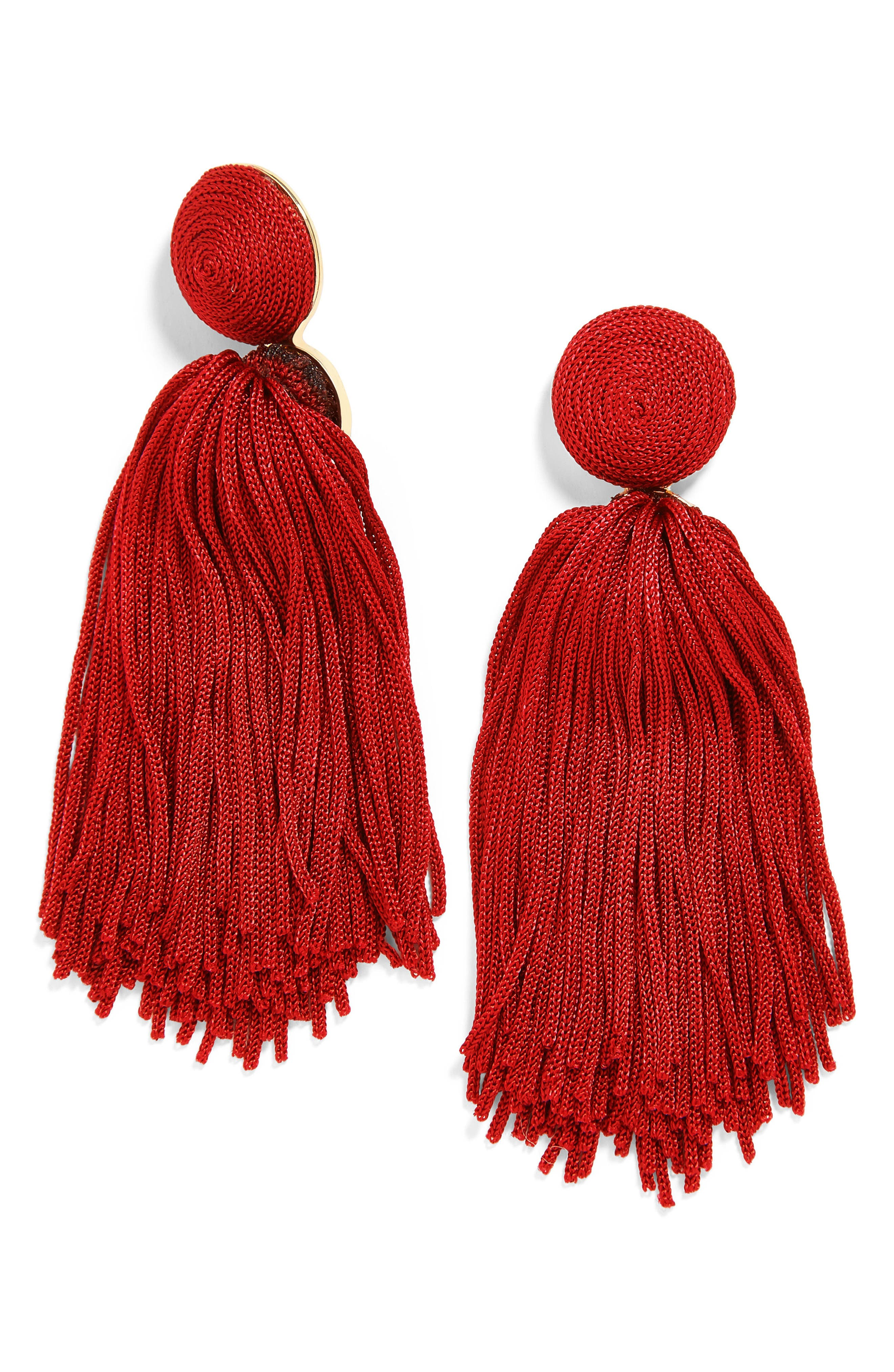 Sonatina Tassel Earrings,                             Main thumbnail 6, color,