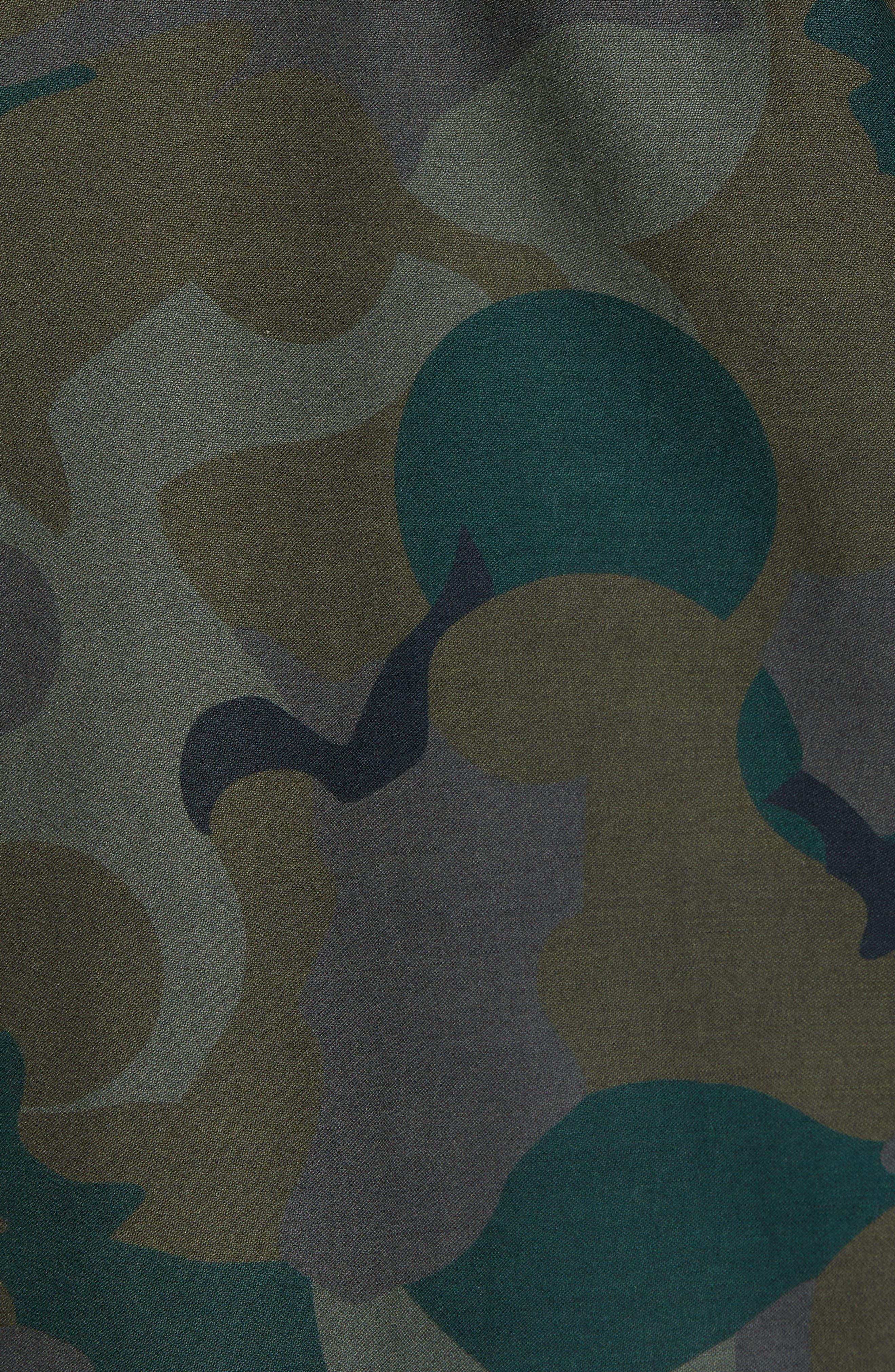Four-Pocket Military Jacket,                             Alternate thumbnail 6, color,                             301