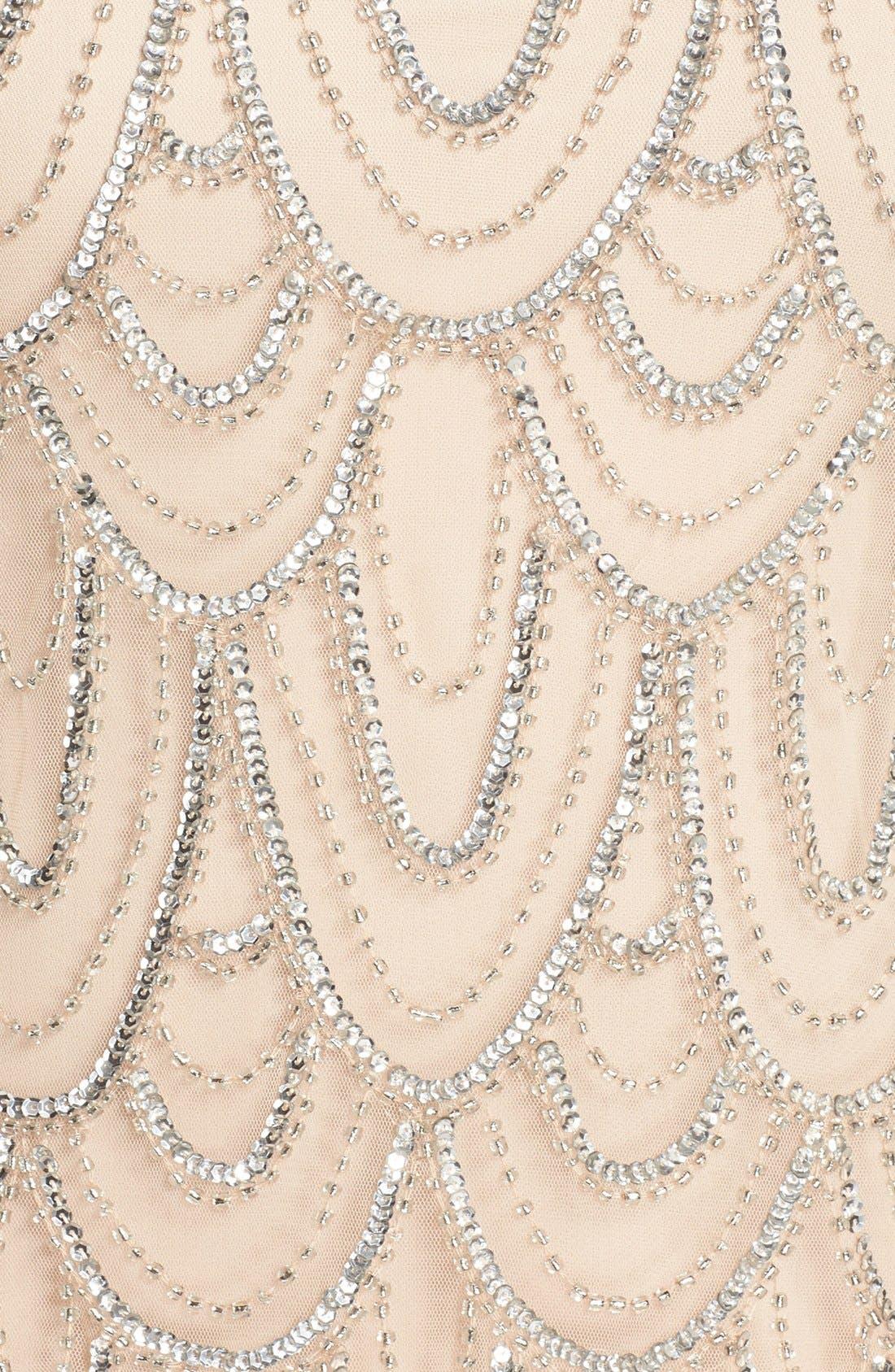 Beaded Sheath Dress,                             Alternate thumbnail 55, color,