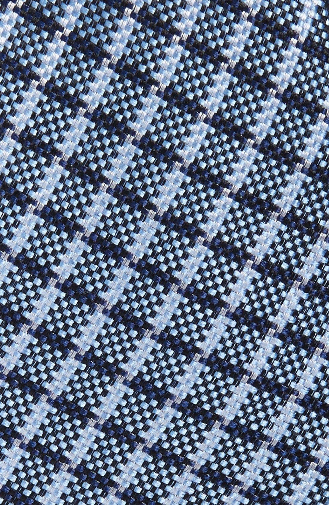 CheckSilk Tie,                             Alternate thumbnail 2, color,                             410