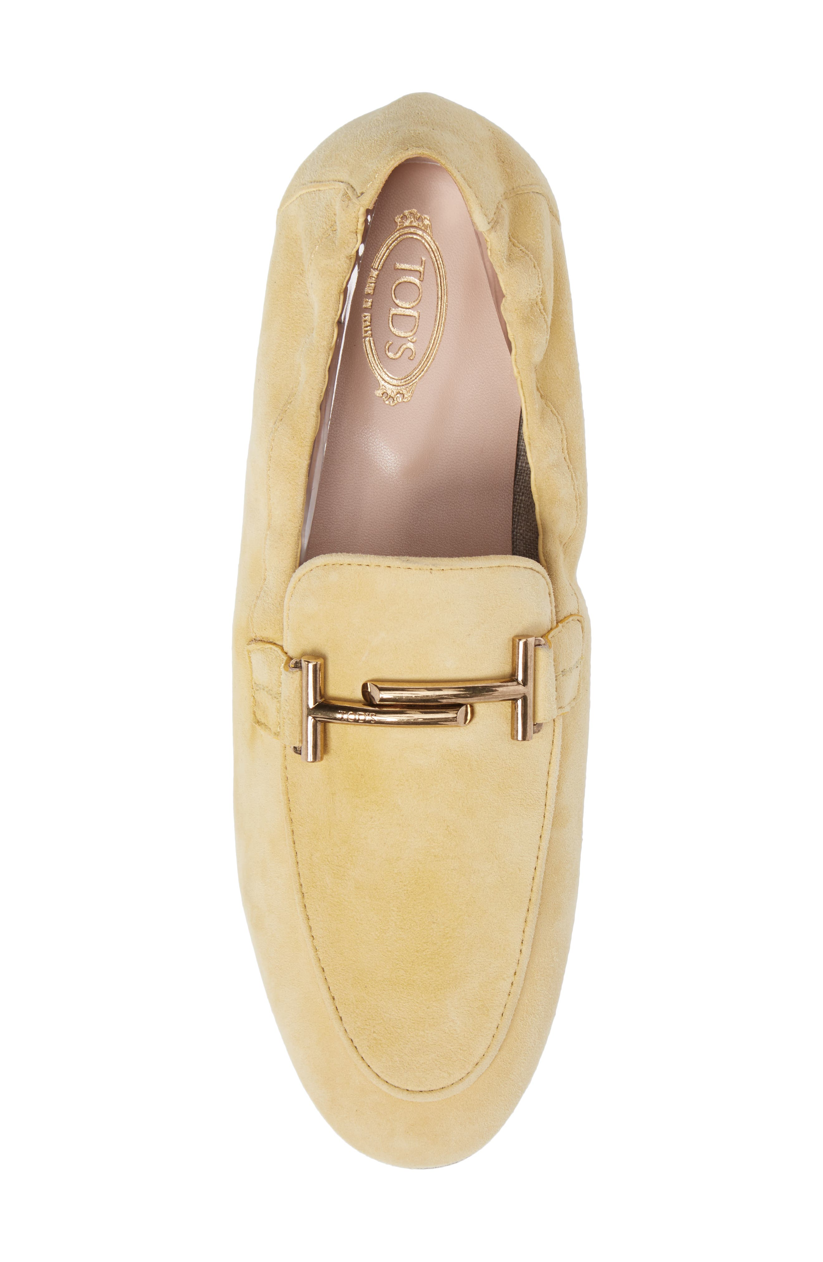 Double T Scrunch Loafer,                             Alternate thumbnail 20, color,