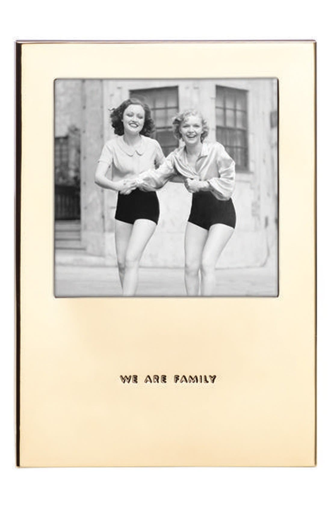 'haven street - we are family' picture frame, Main, color, 710