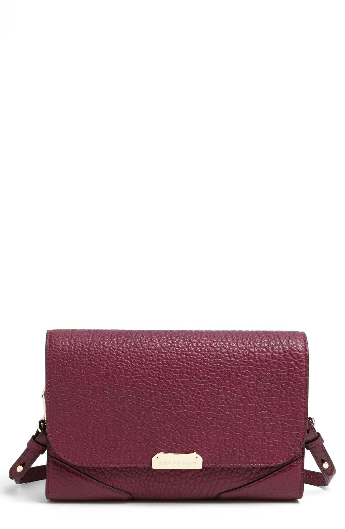 BURBERRY 'Abbott - Small' Crossbody Bag, Main, color, 510