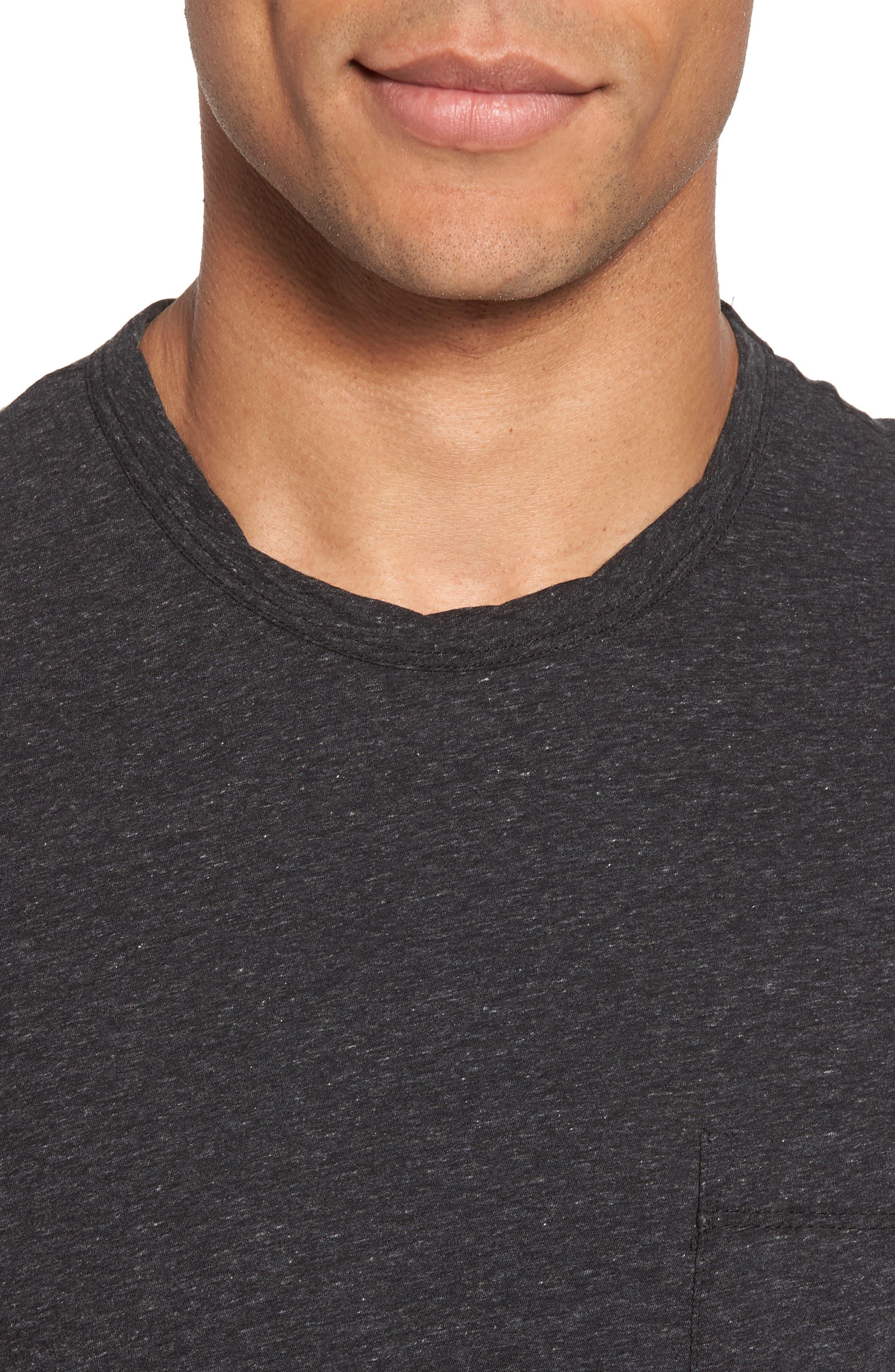 High Twist Regular Fit T-Shirt,                             Alternate thumbnail 4, color,                             025