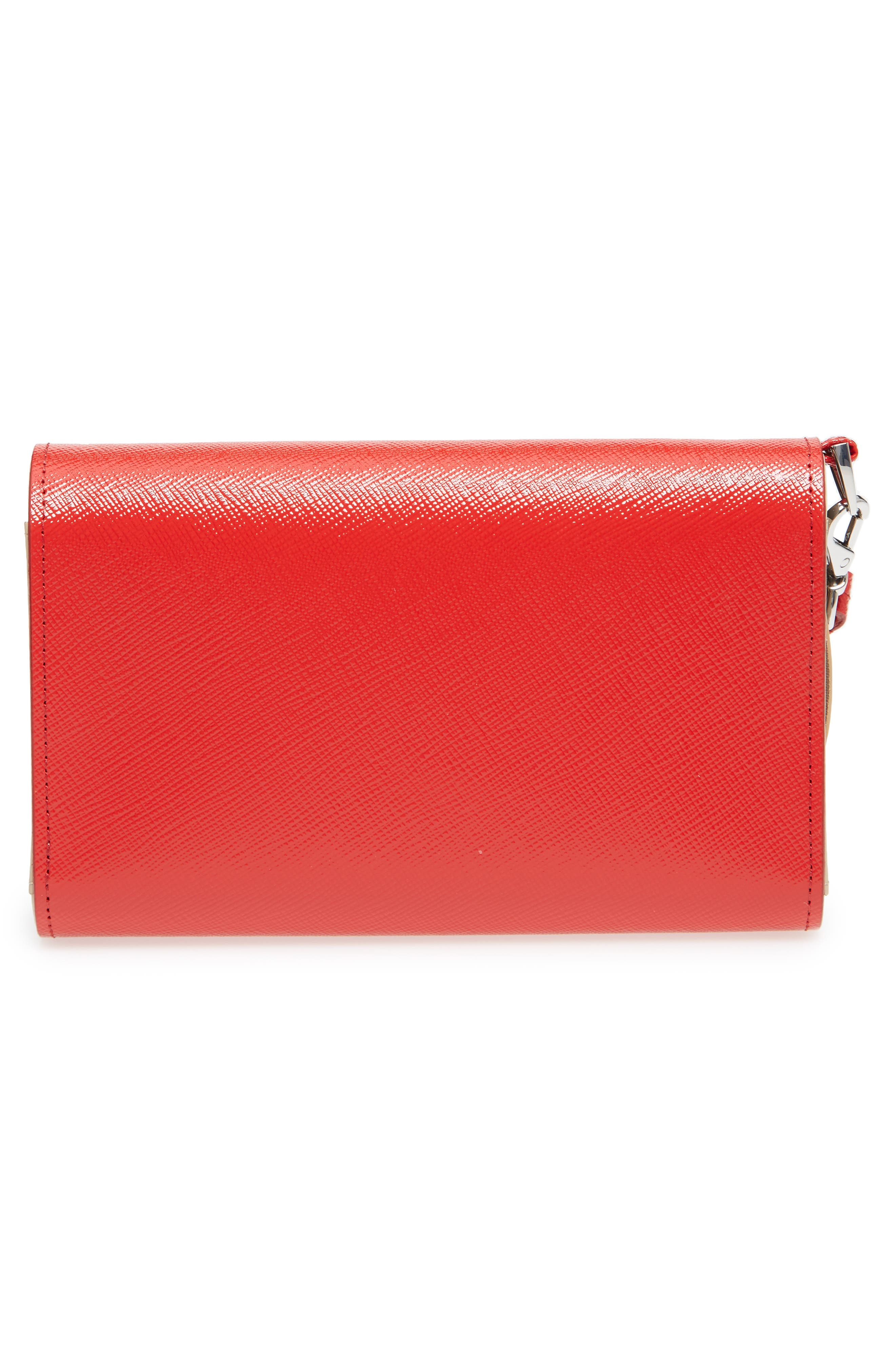 Trifold Leather Wallet,                             Alternate thumbnail 15, color,