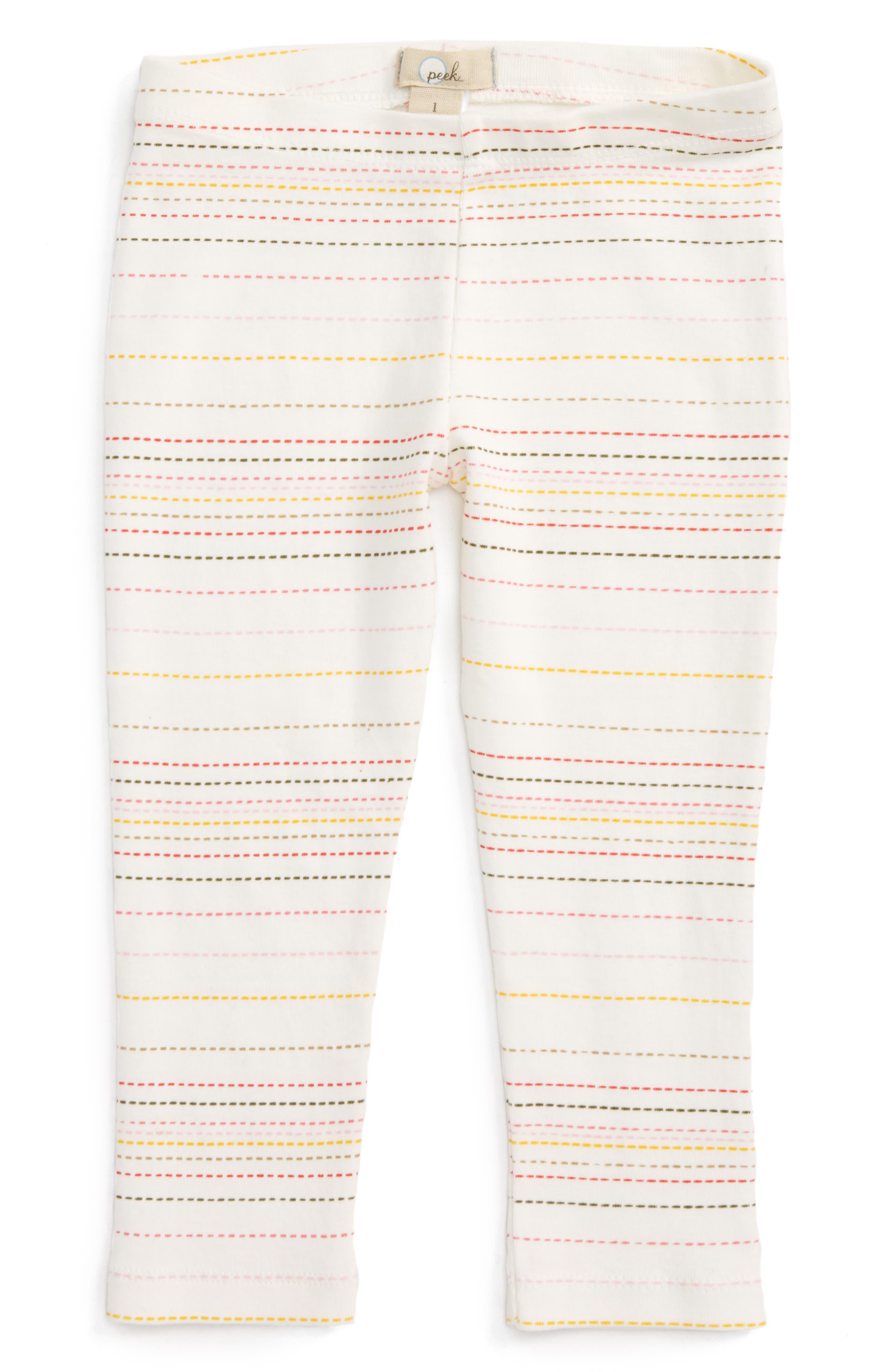 Peek Layla Stripe Leggings,                         Main,                         color, 900