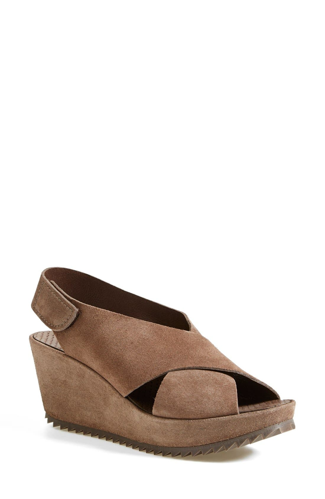 'Federica' Wedge Sandal,                             Main thumbnail 4, color,