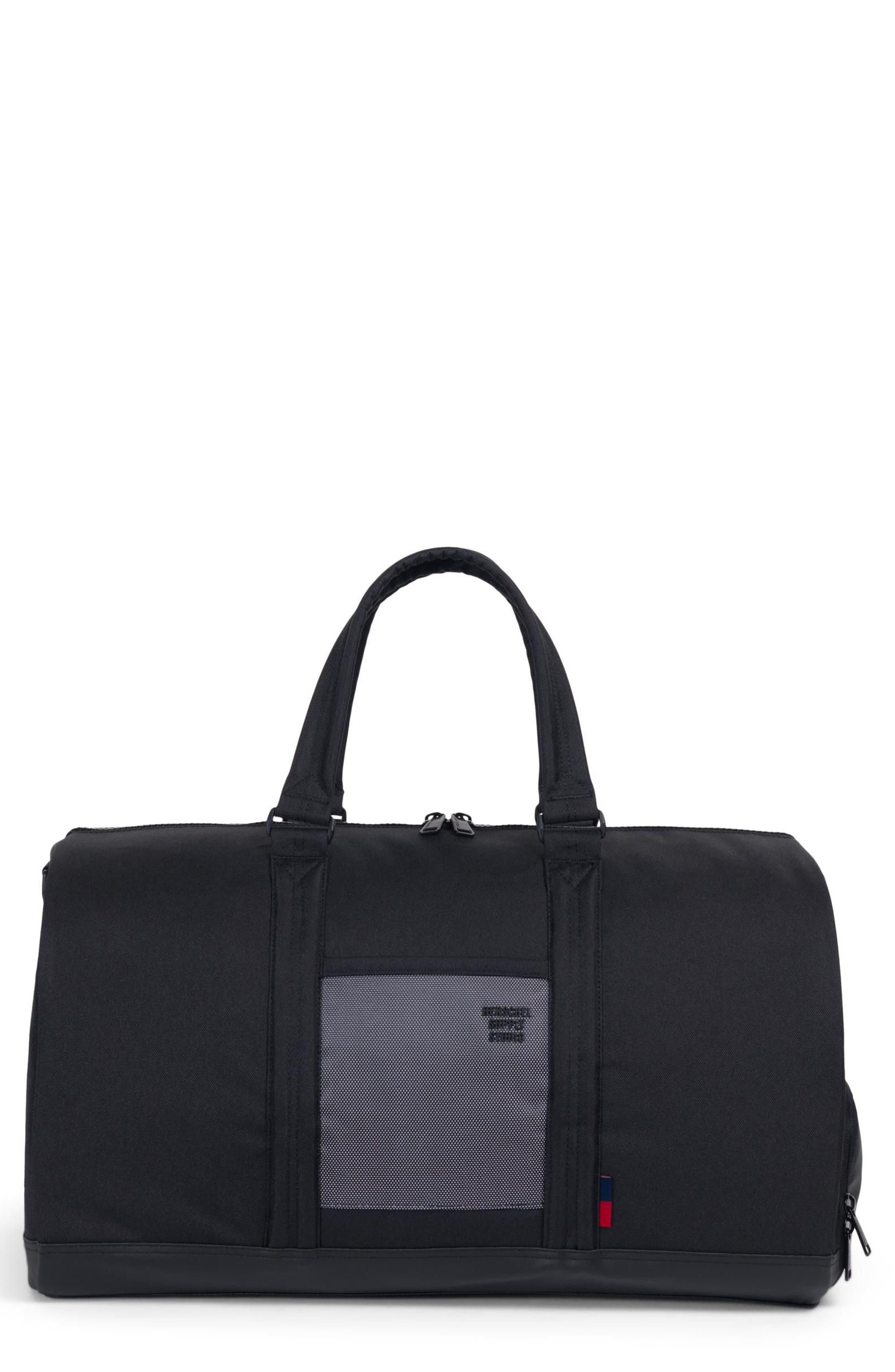 Novel Studio Duffel Bag,                         Main,                         color, BLACK