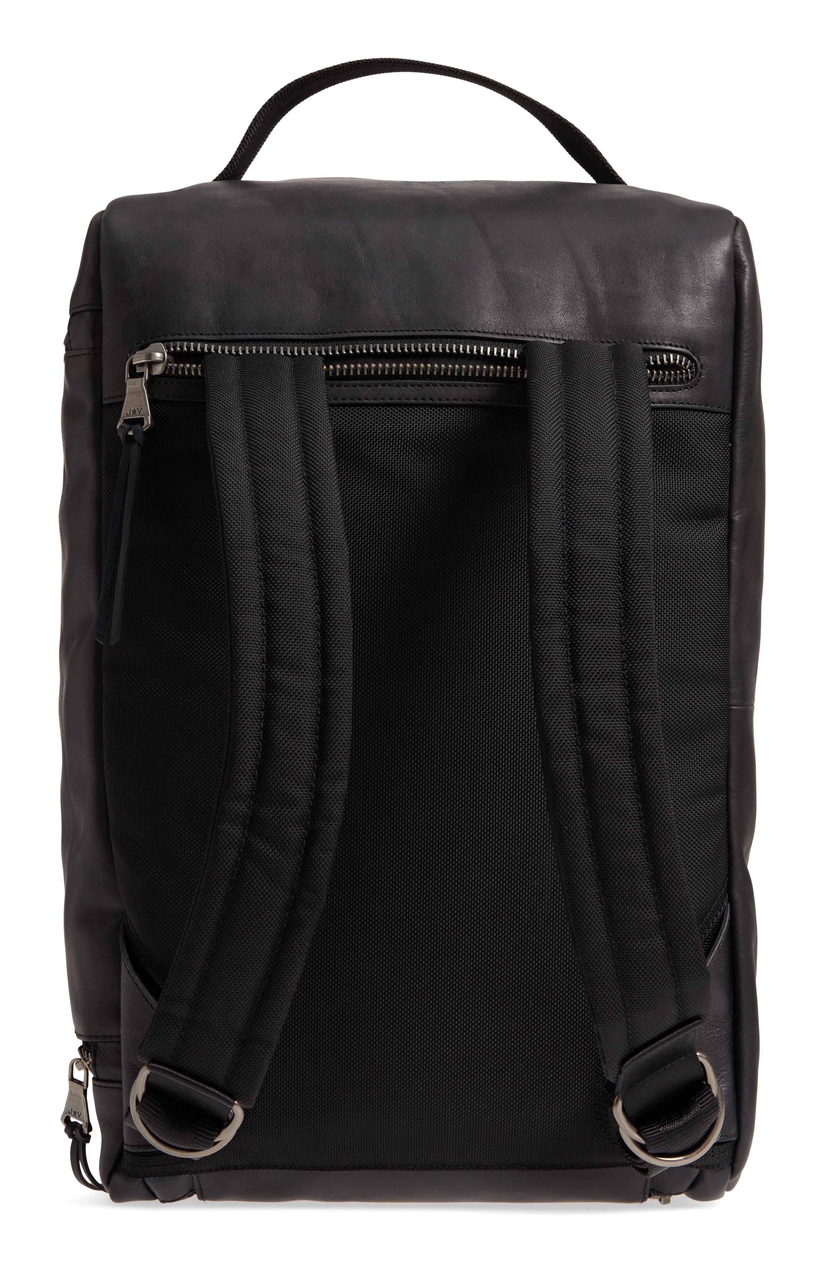 Brooklyn Suede Convertible Duffel Bag,                             Alternate thumbnail 6, color,
