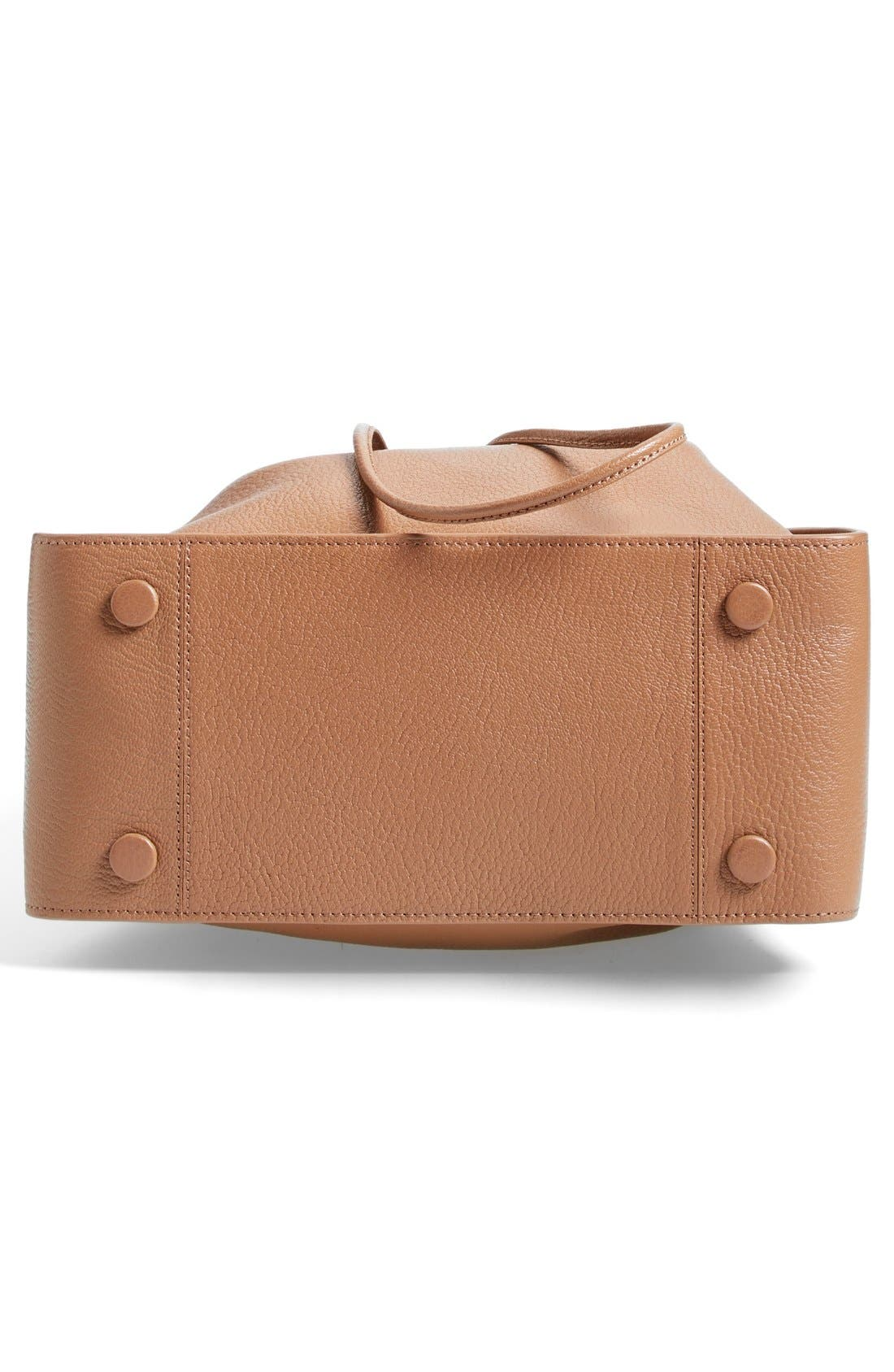 'Large Soleil' Leather Bucket Bag,                             Alternate thumbnail 11, color,