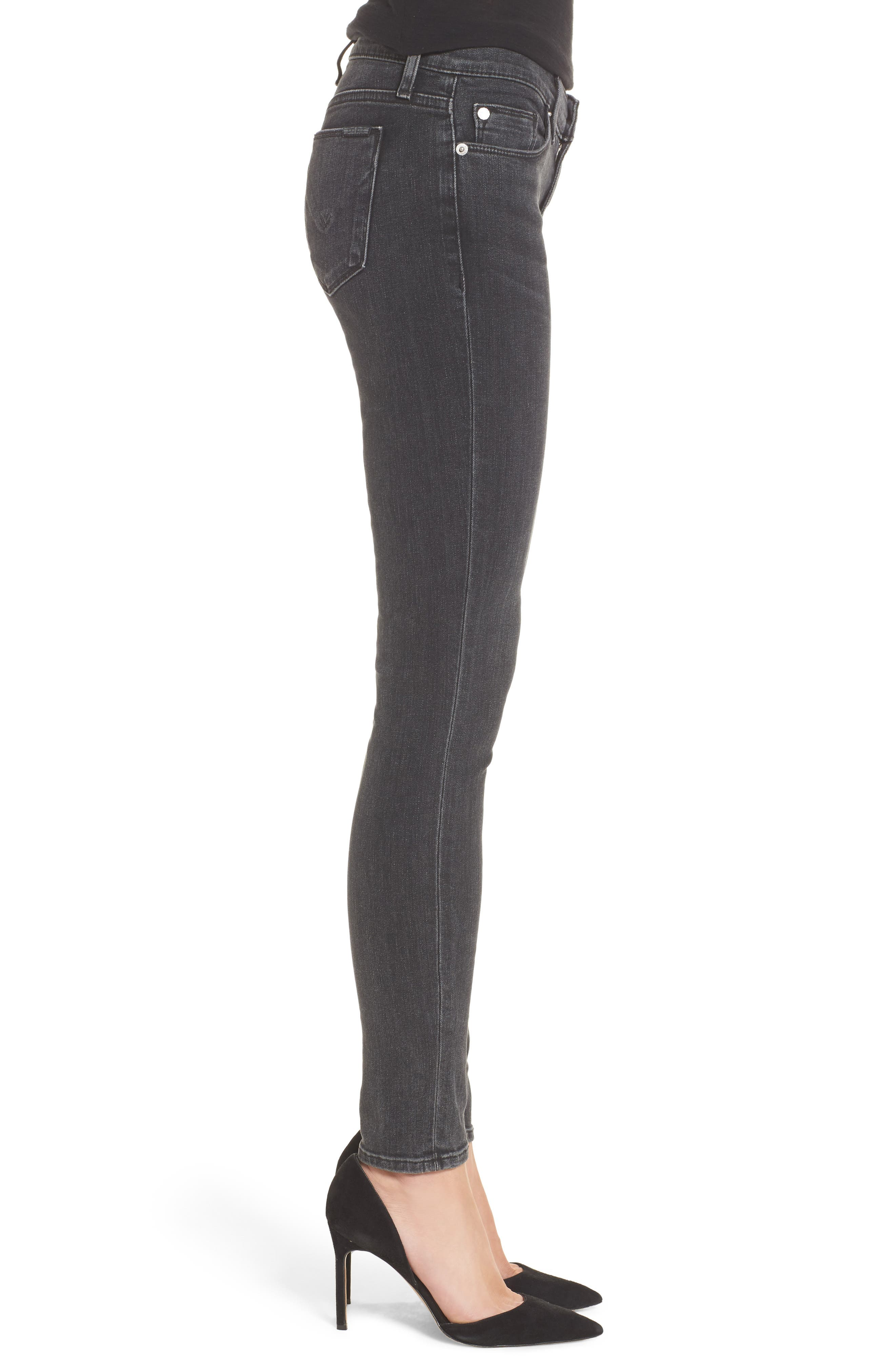 Krista Super Skinny Jeans,                             Alternate thumbnail 3, color,                             001