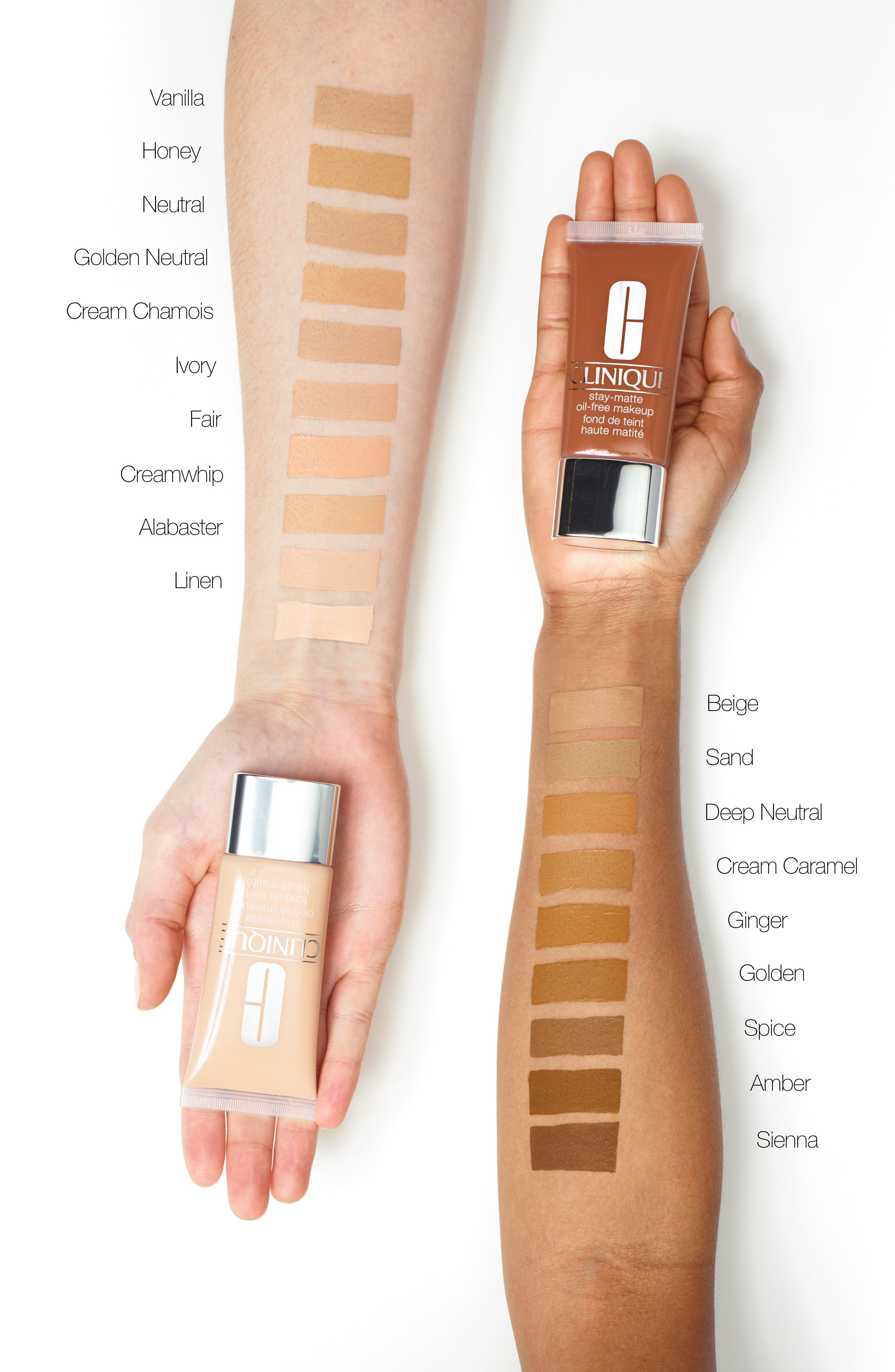 Stay-Matte Oil-Free Makeup,                             Alternate thumbnail 2, color,                             24 GOLDEN
