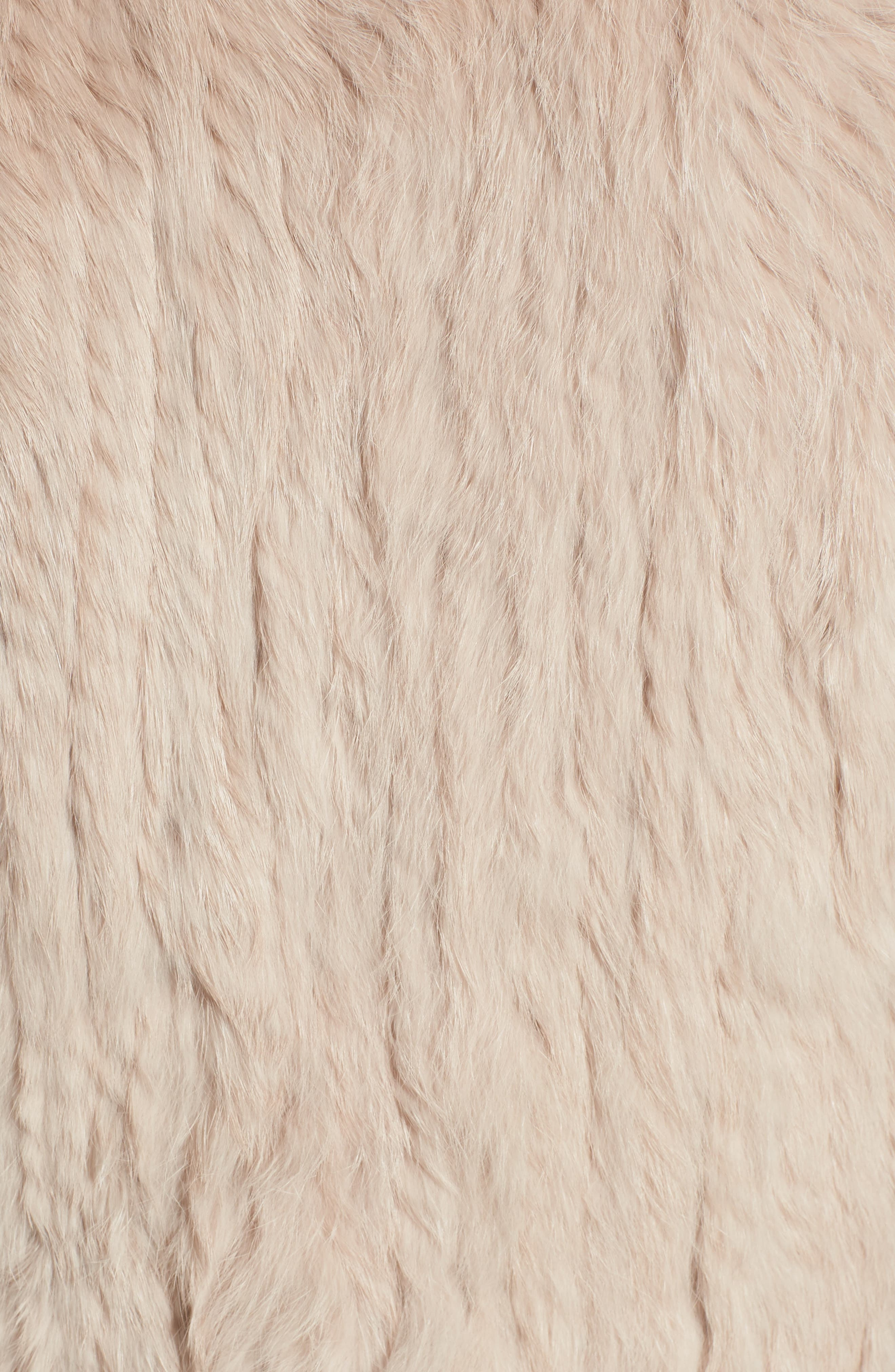 Genuine Rabbit Fur & Knit Vest,                             Alternate thumbnail 31, color,