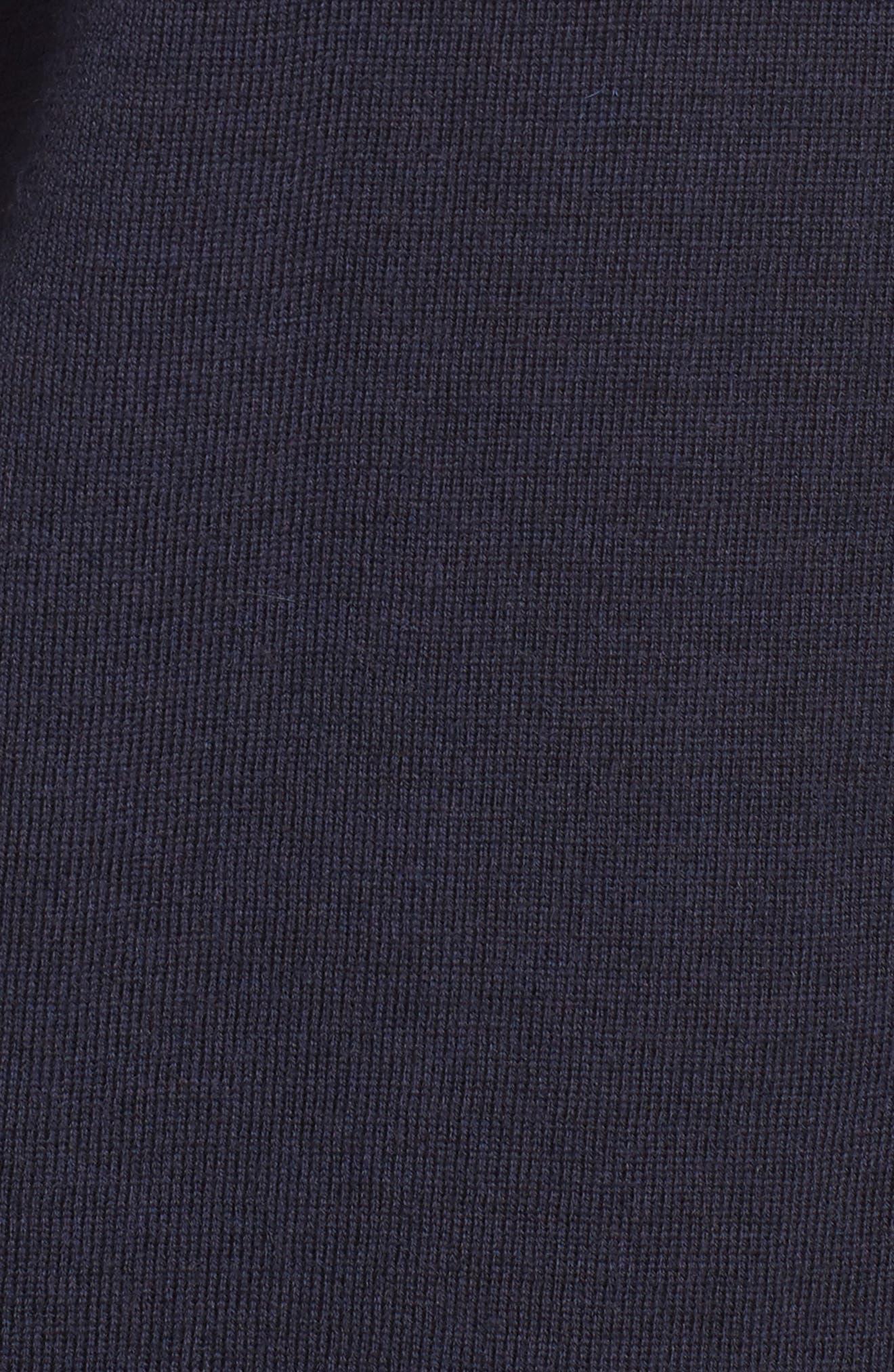 Merino Wool Boxy Turtleneck Sweater,                             Alternate thumbnail 27, color,