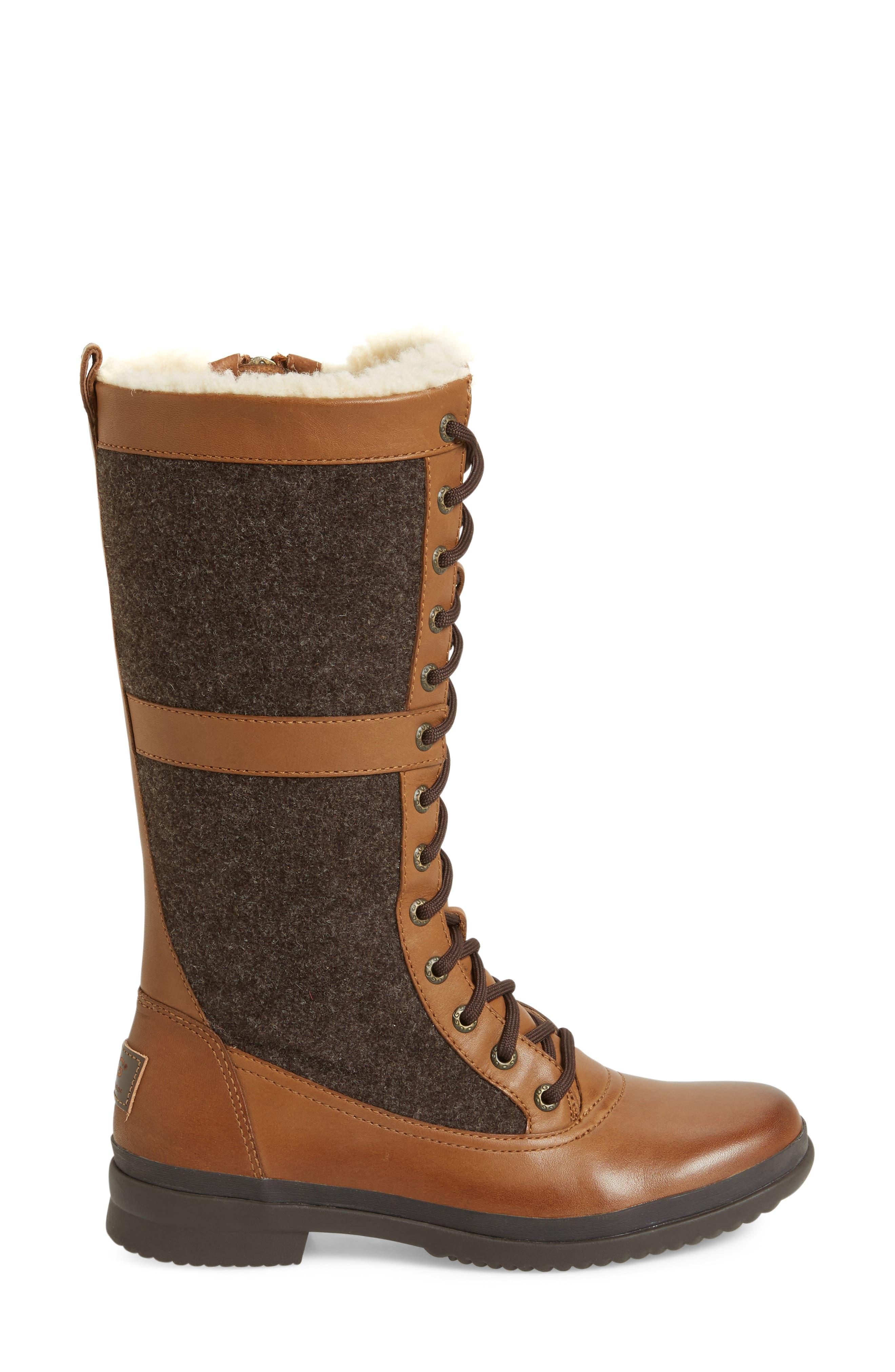 Elvia Waterproof Tall Boot,                             Alternate thumbnail 9, color,